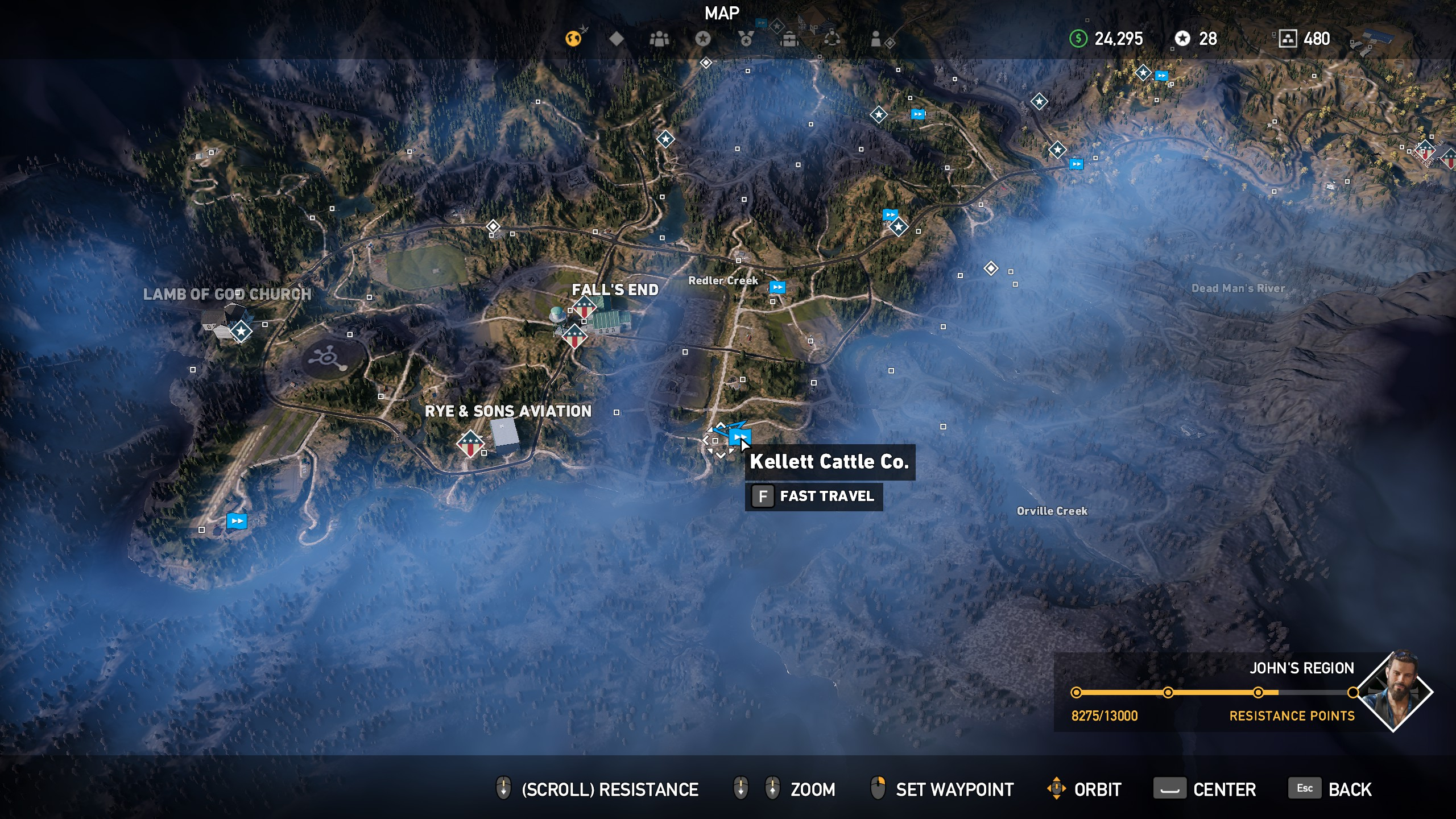 how to unlock map area in far cry 4