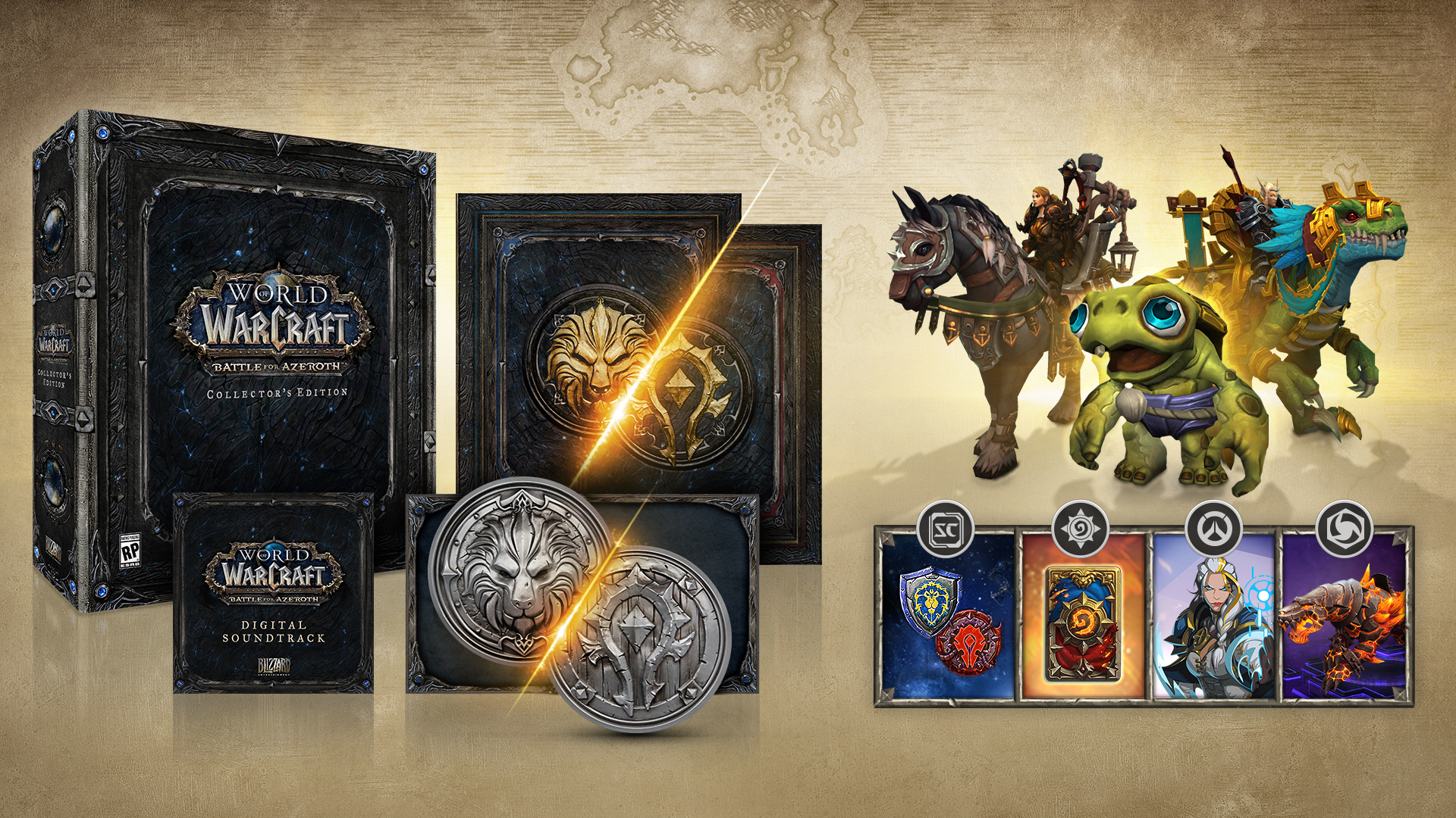 Battle for Azeroth' Gets Release Date, Collector's Edition Details