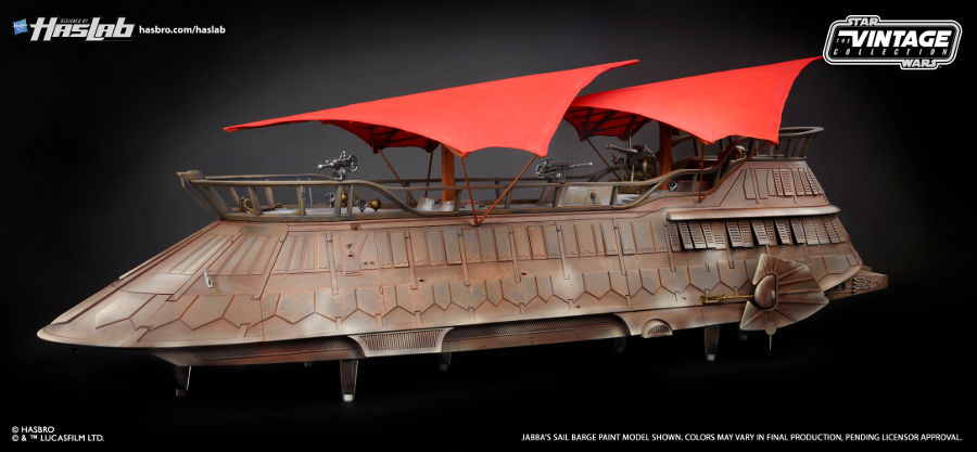 Jabba's Sail Barge will be the coolest Star Wars toy of all