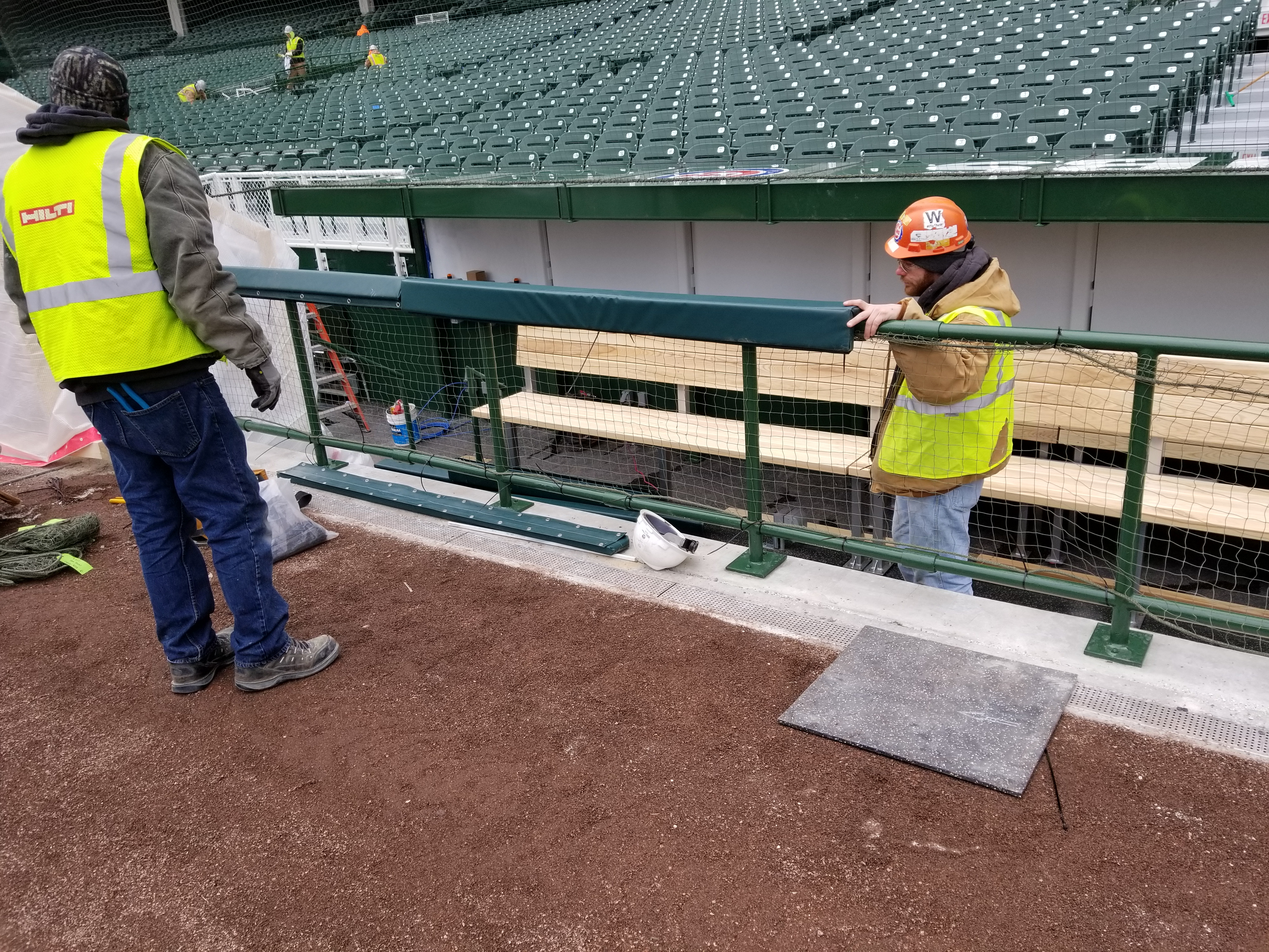 Wrigley Field Construction Update April 6 1st Look At
