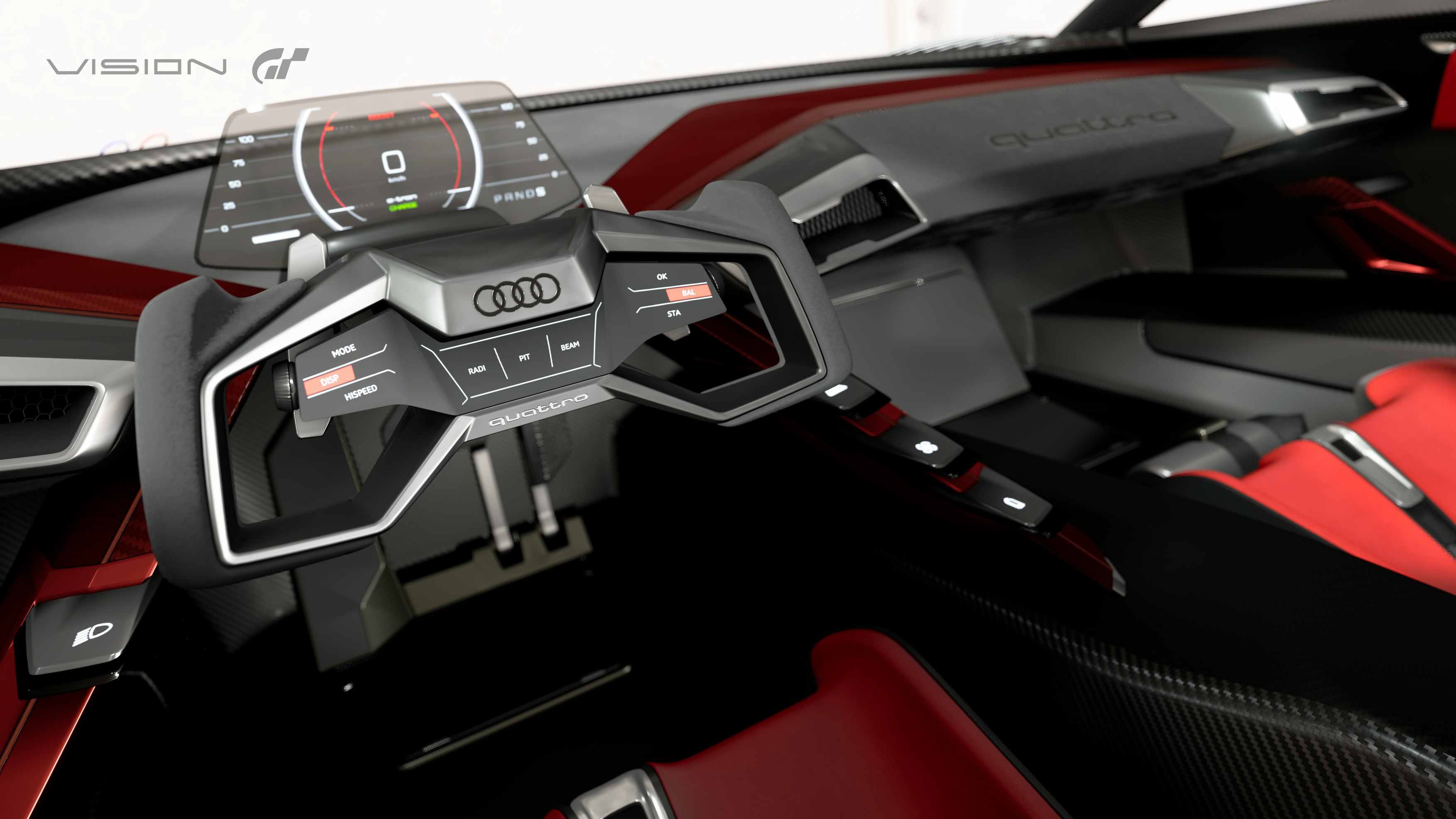 Audis Horsepower Electric Concept Is A Video Game Car Come To - Audi concept