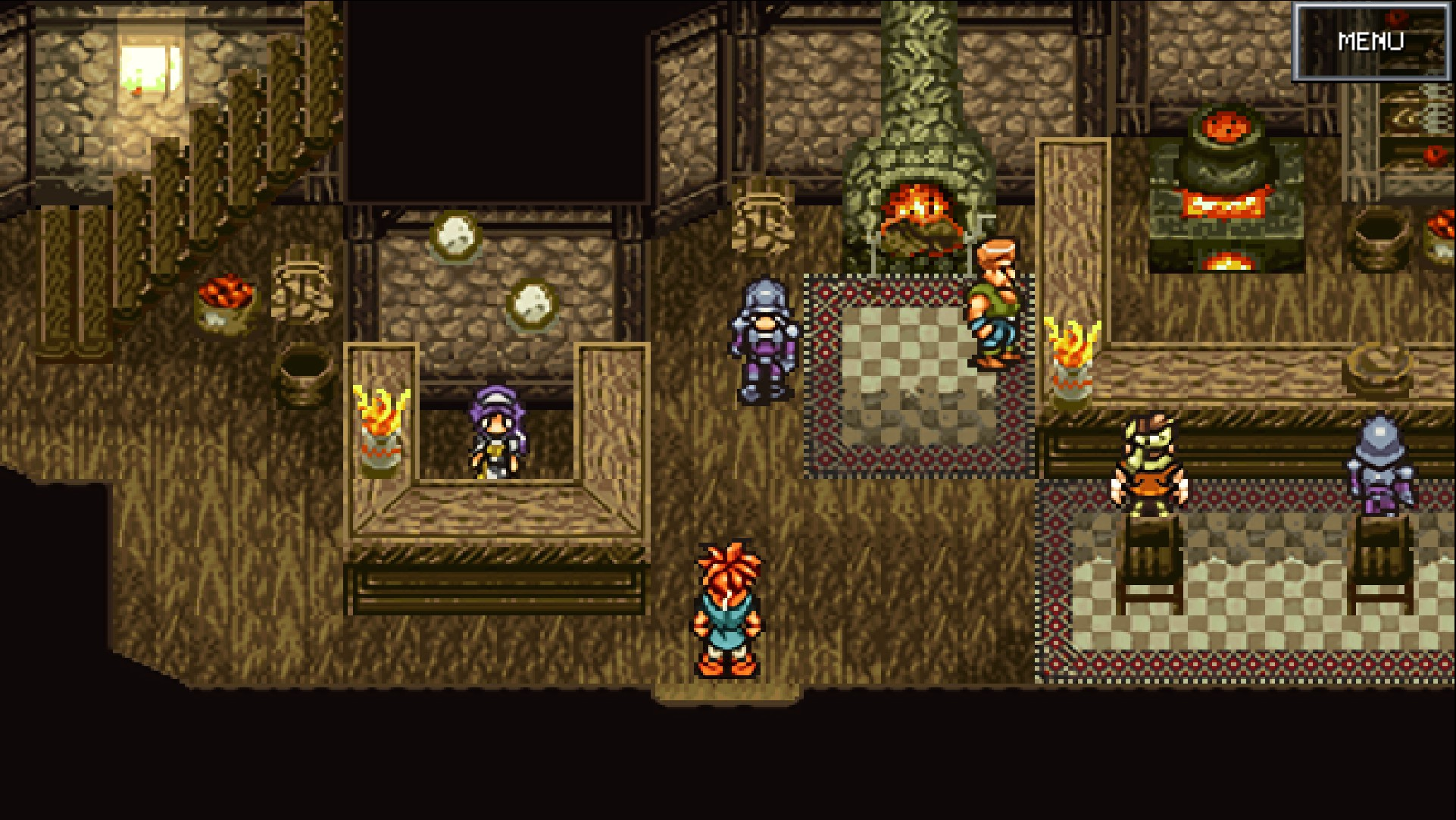 Steam version of Chrono Trigger patched, looks better already