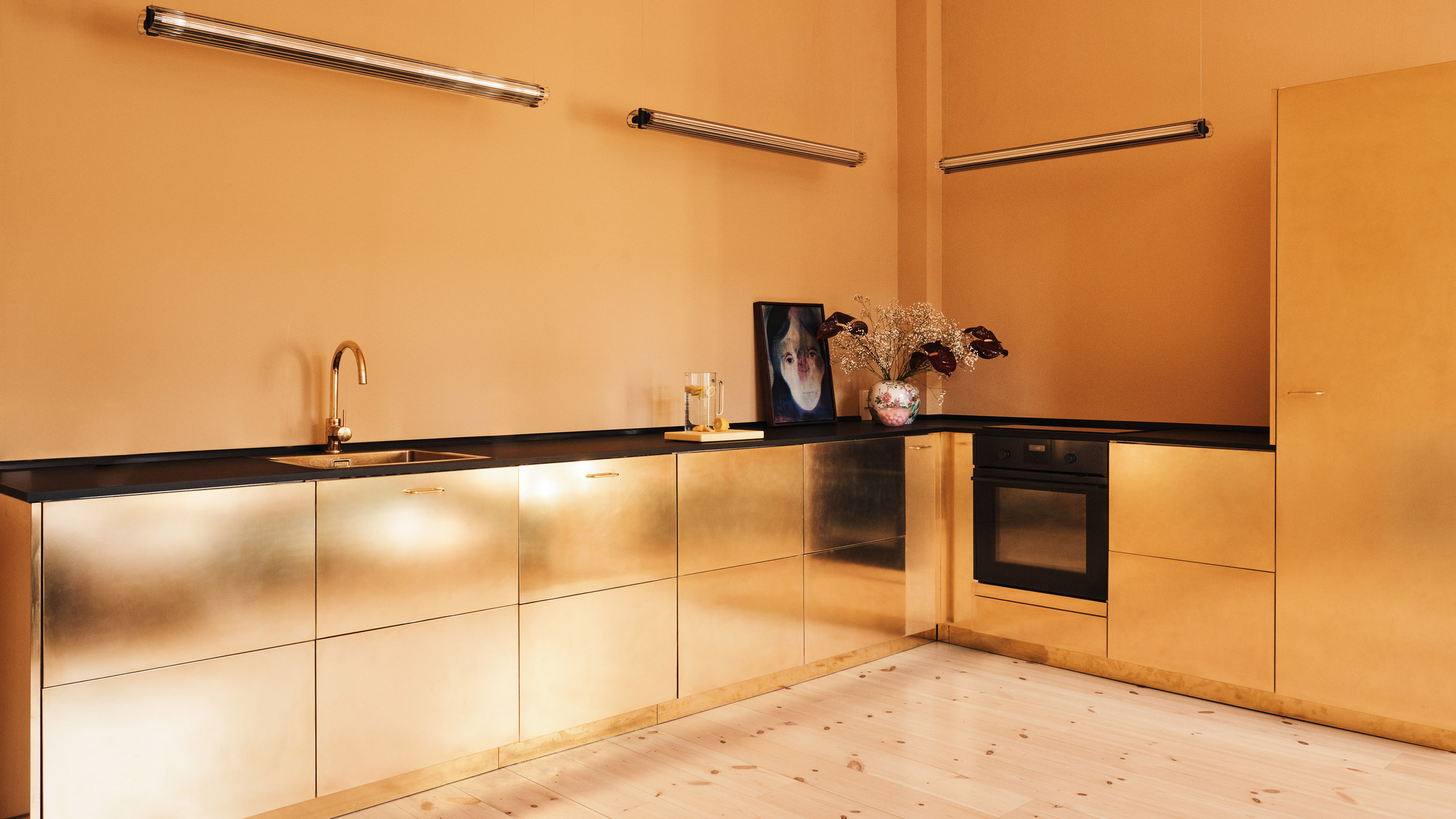 Reform Creates Brass Doors For Ikea Kitchen Curbed