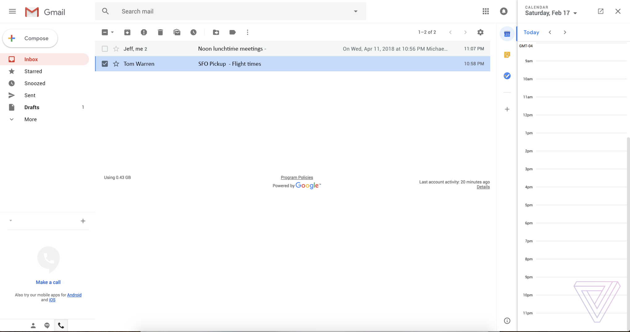 This is the new Gmail design - The Verge