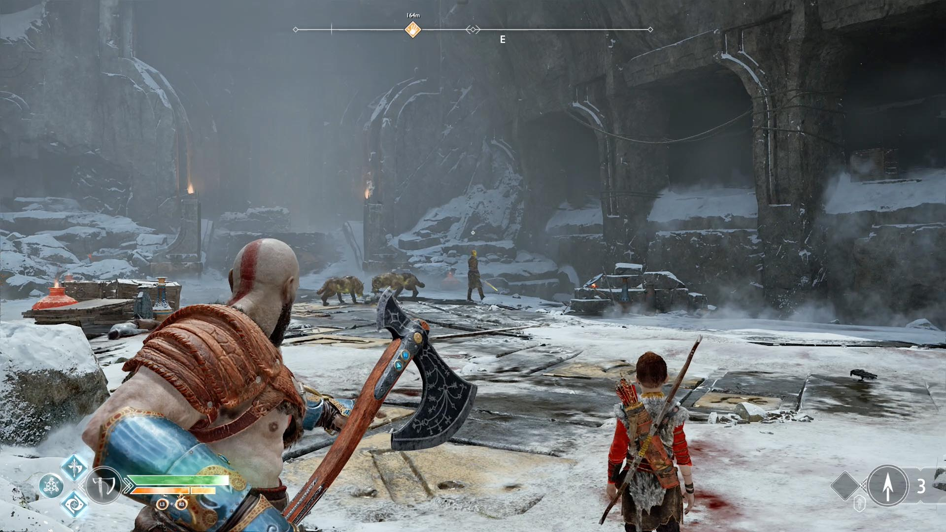 God of War guide: Foothills and Mountain's Base walkthrough