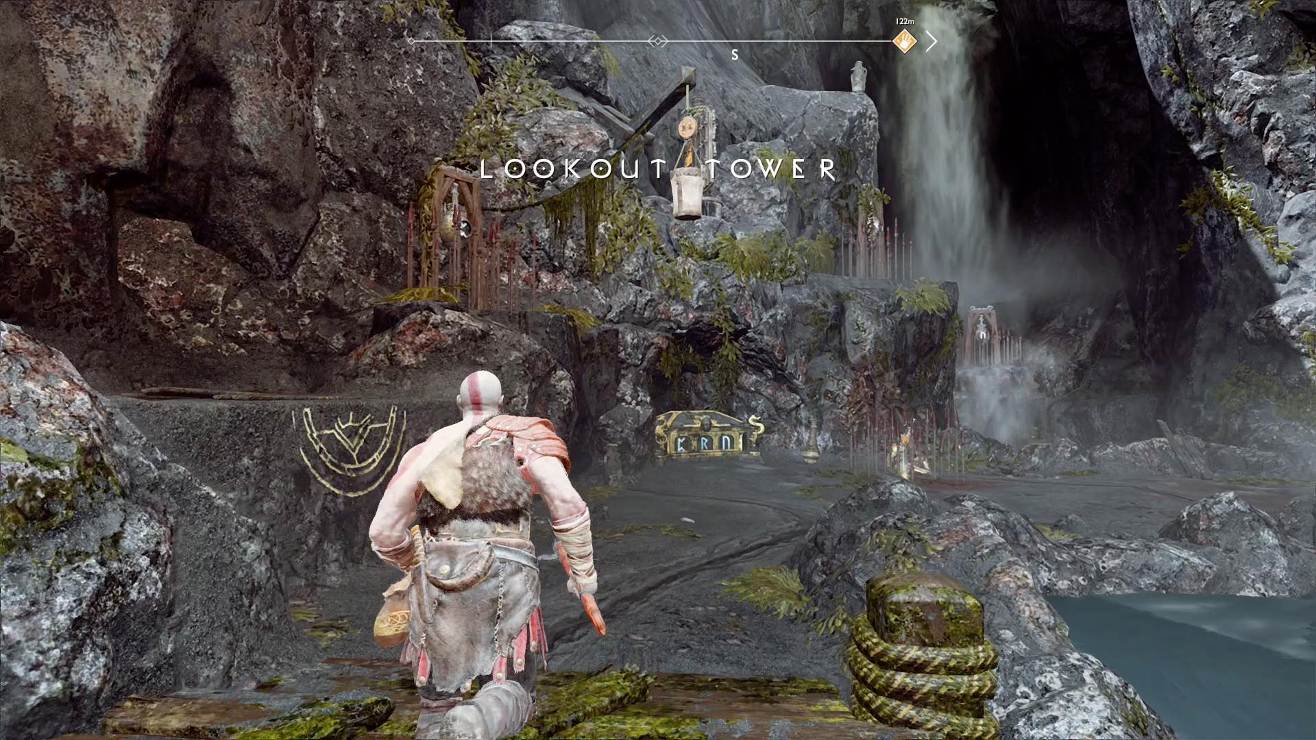 God Of War Guide Lookout Tower Collectibles Polygon