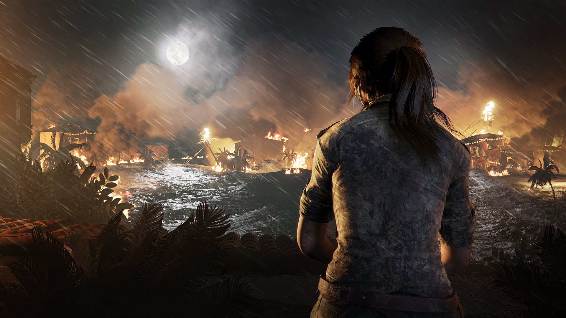 Shadow of the Tomb Raider's first images look impressive ...