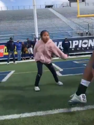 This little champion gave us the best football highlight of the year
