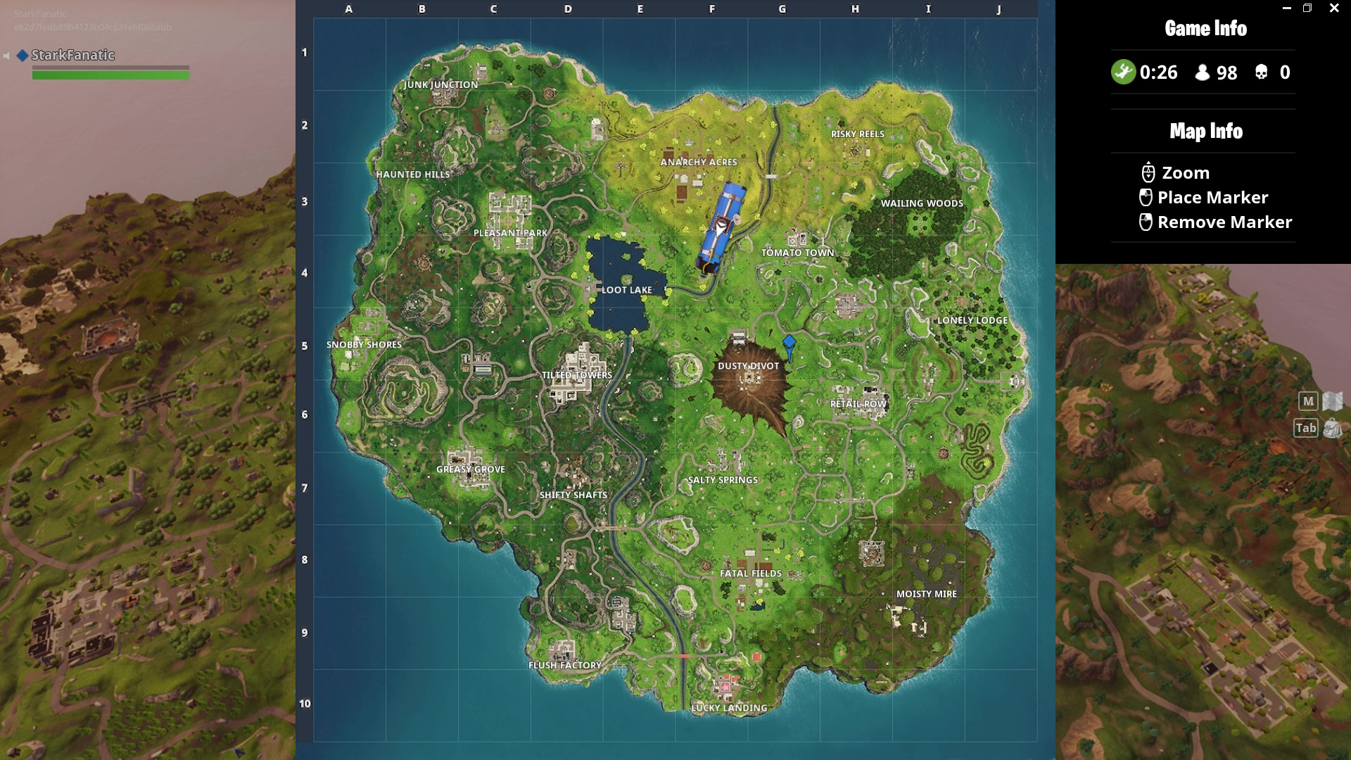 epic games via polygon - season 7 fortnite mappa