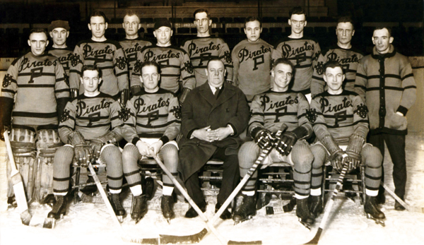 Hockey History: The Pirates - Pittsburgh's First NHL Team