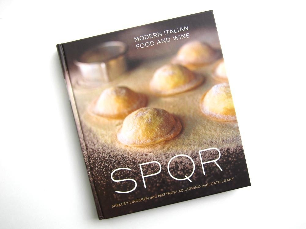 First look sf restaurant spqrs new cookbook eater first look sf restaurant spqrs new cookbook forumfinder Image collections