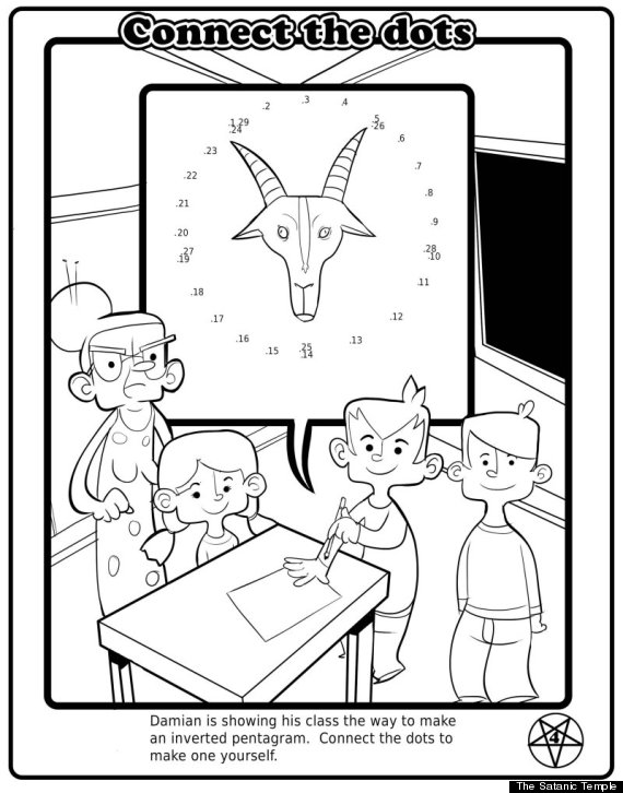 free satanic coloring pages - photo#5