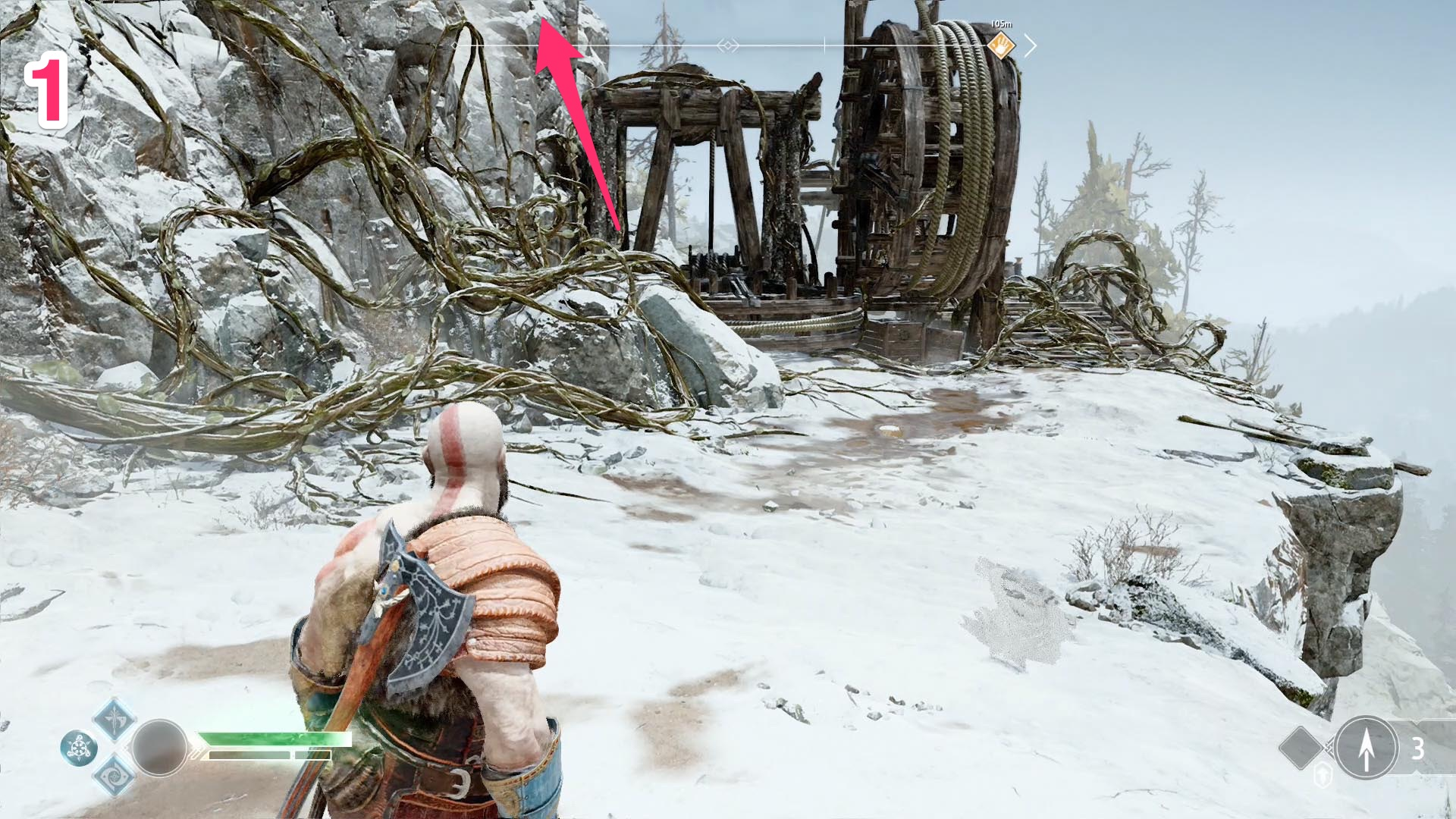 God Of War Guide Foothills And Mountain S Base