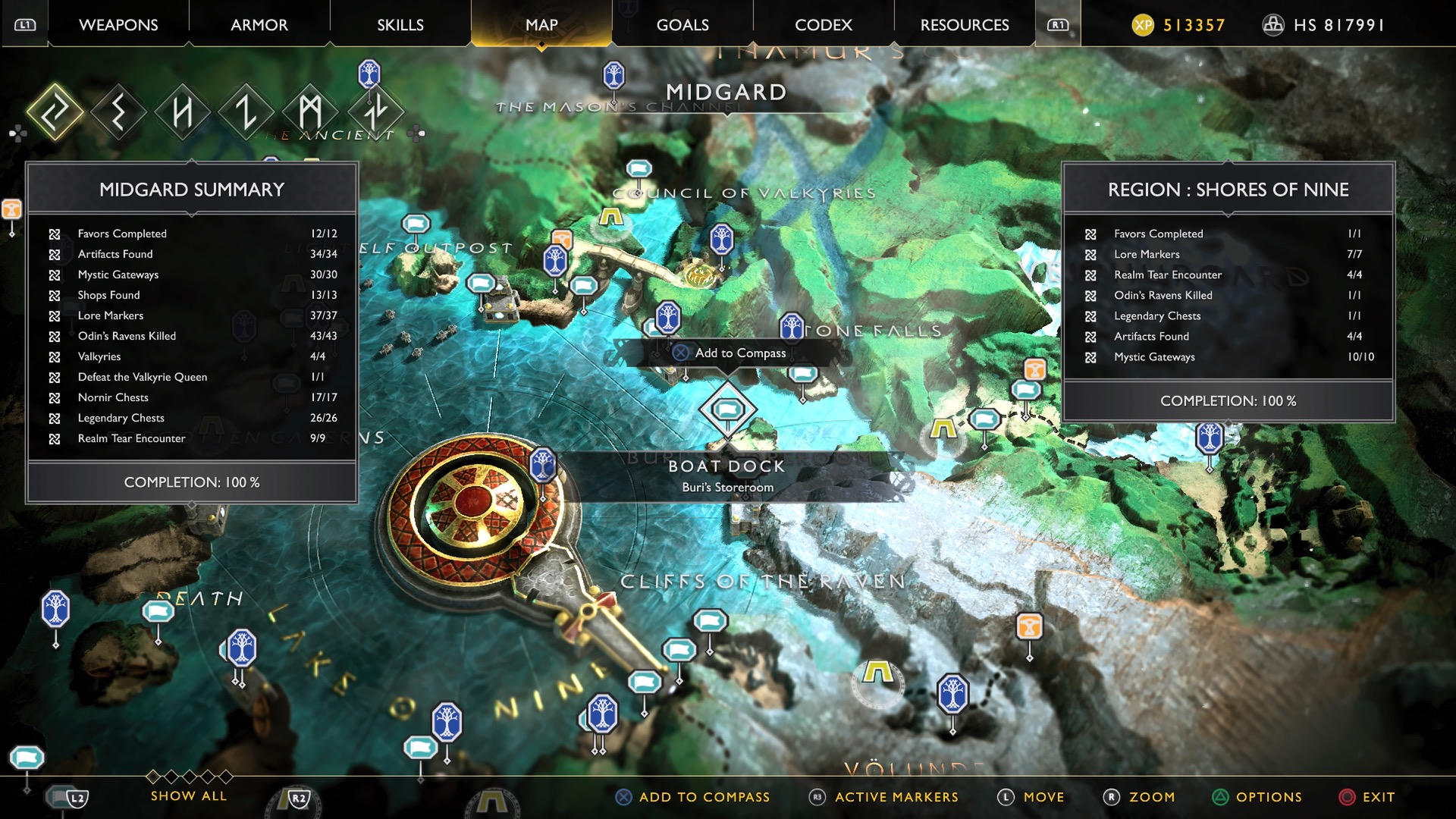 God of War guide: Creation Island treasure map - Polygon