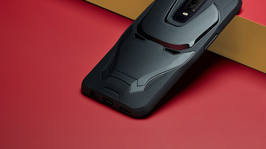 outlet store d38af 161b7 Here's the Avengers edition OnePlus 6 - The Verge