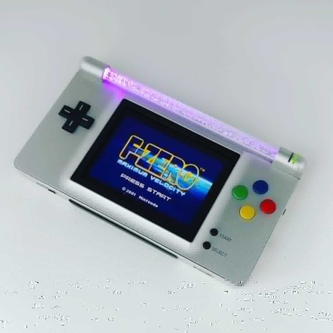 nintendo ds sees new life as the neon advance polygon