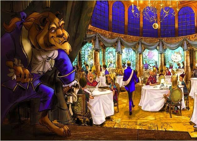 Be Our Guest Disney World S Upcoming Beauty And The Beast