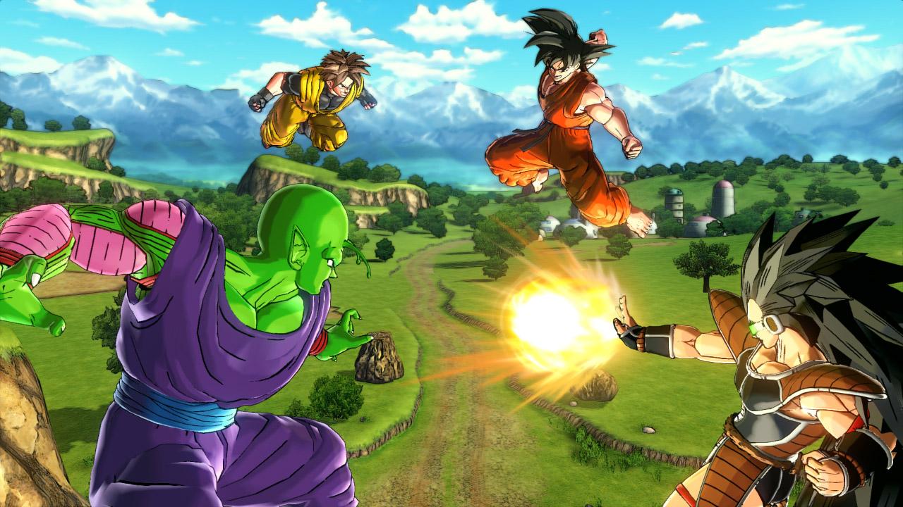 The new Dragon Ball game lets you create your own custom Super Saiyan