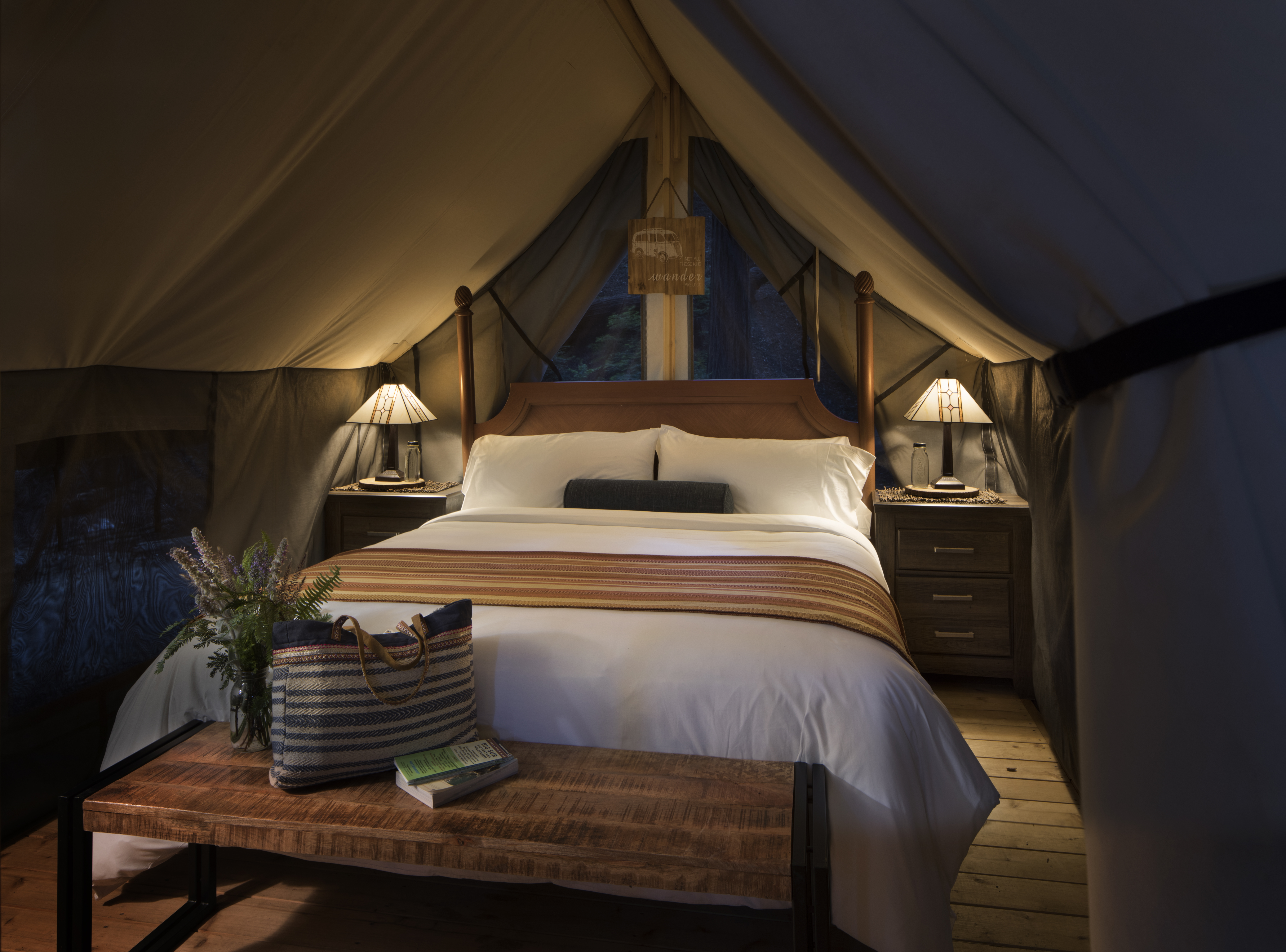 Glamping: The 11 best resorts in the U.S.
