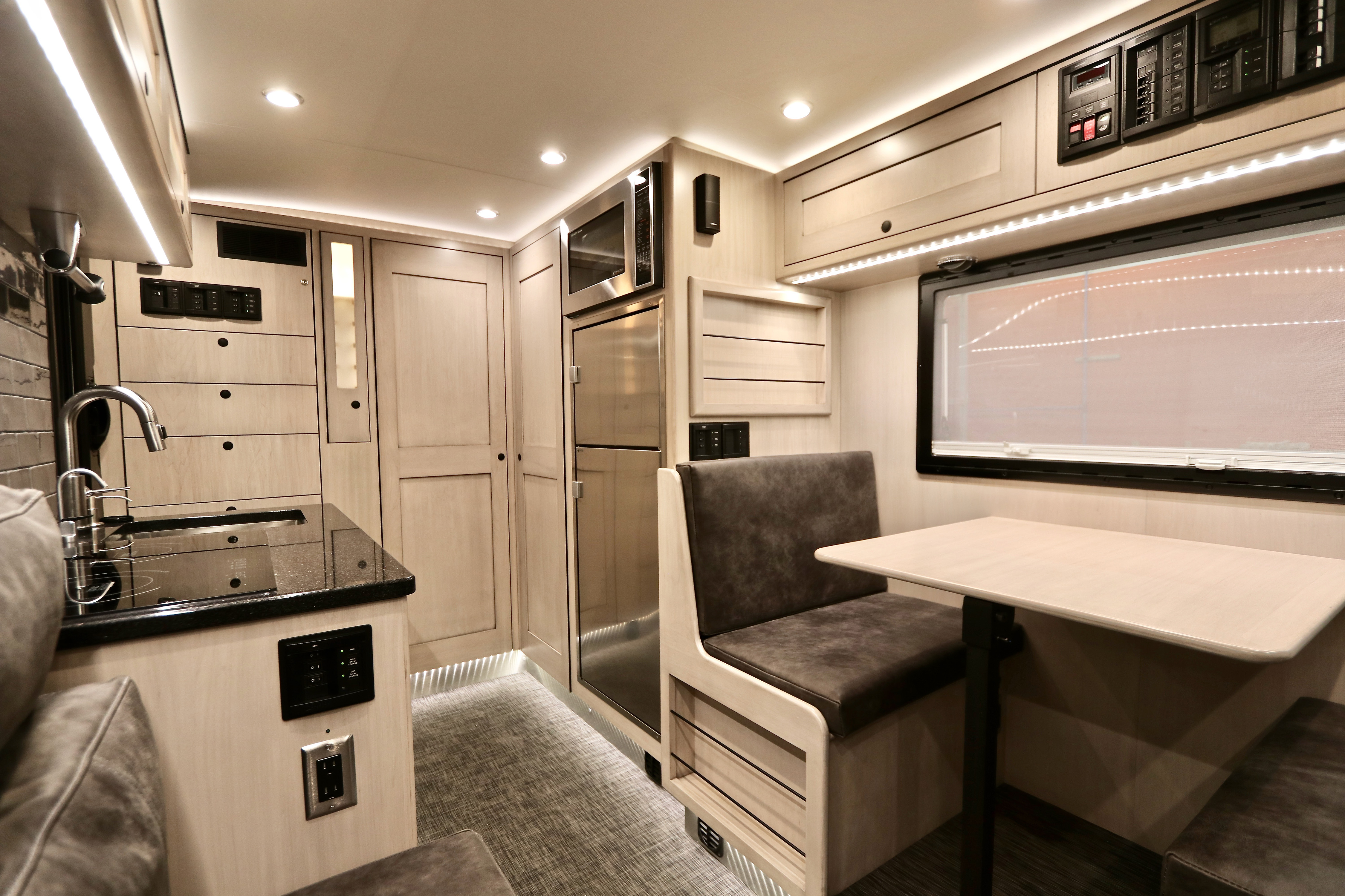 Go-anywhere luxury camper can stay off the grid for weeks