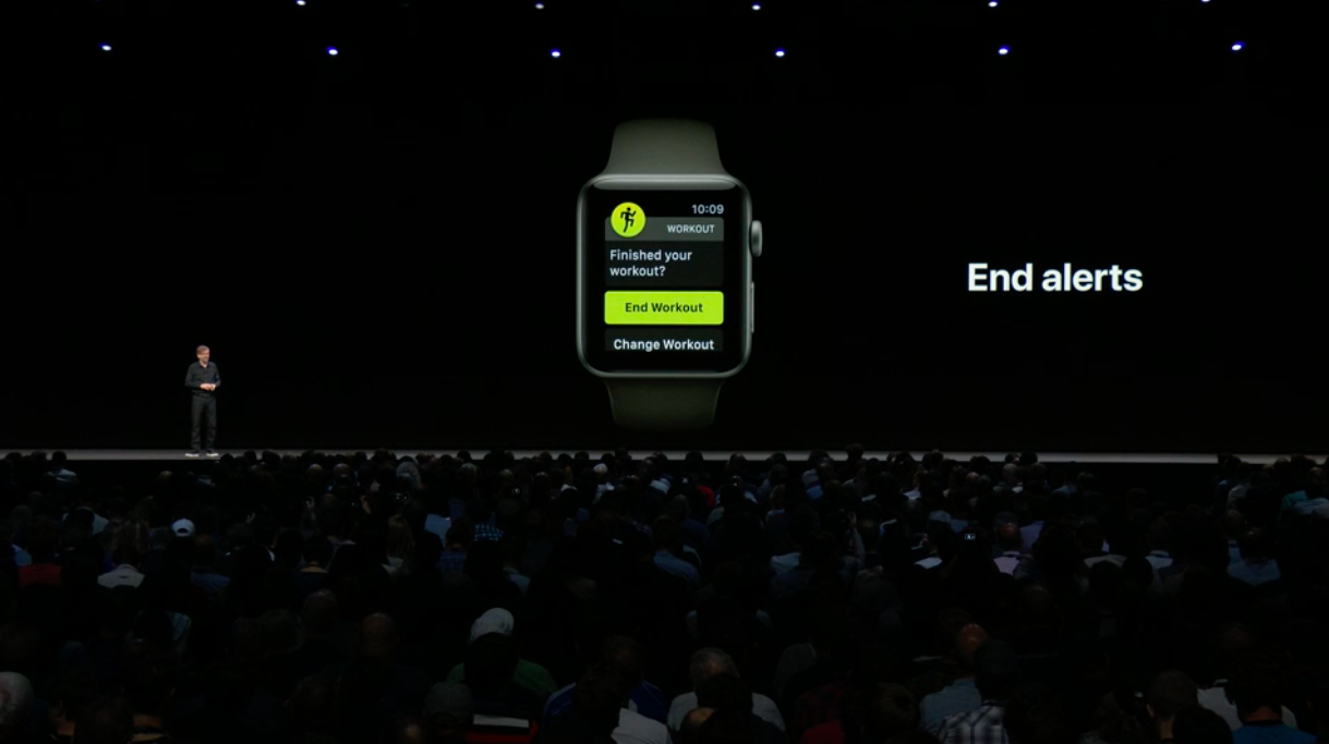The Apple Watch Will Get Automatic Workout Detection Walkie Talkie See A Robot 1 Of 18