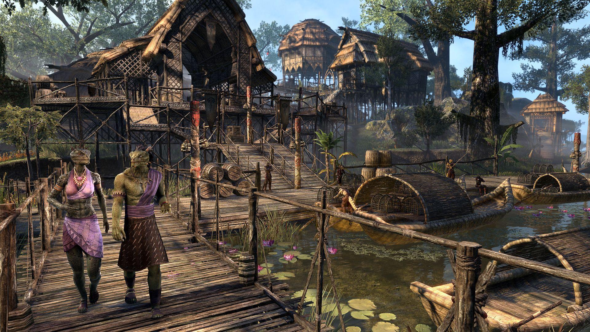 Elder Scrolls Online focuses on werewolves, Argonians with next DLC