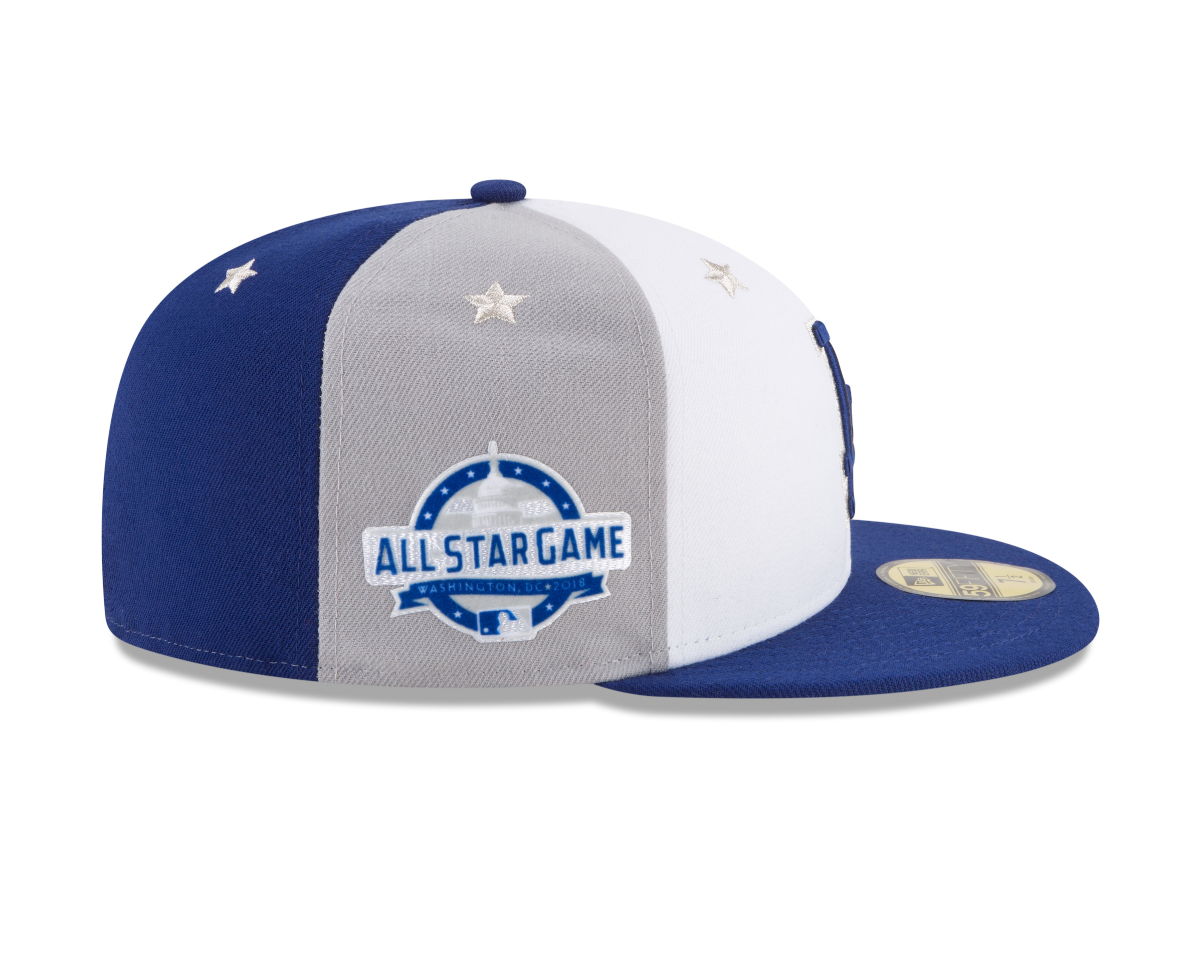 Dodgers 2018 All-Star Game cap (side view) MLB Photos via Getty Images 02bc0ad6f37