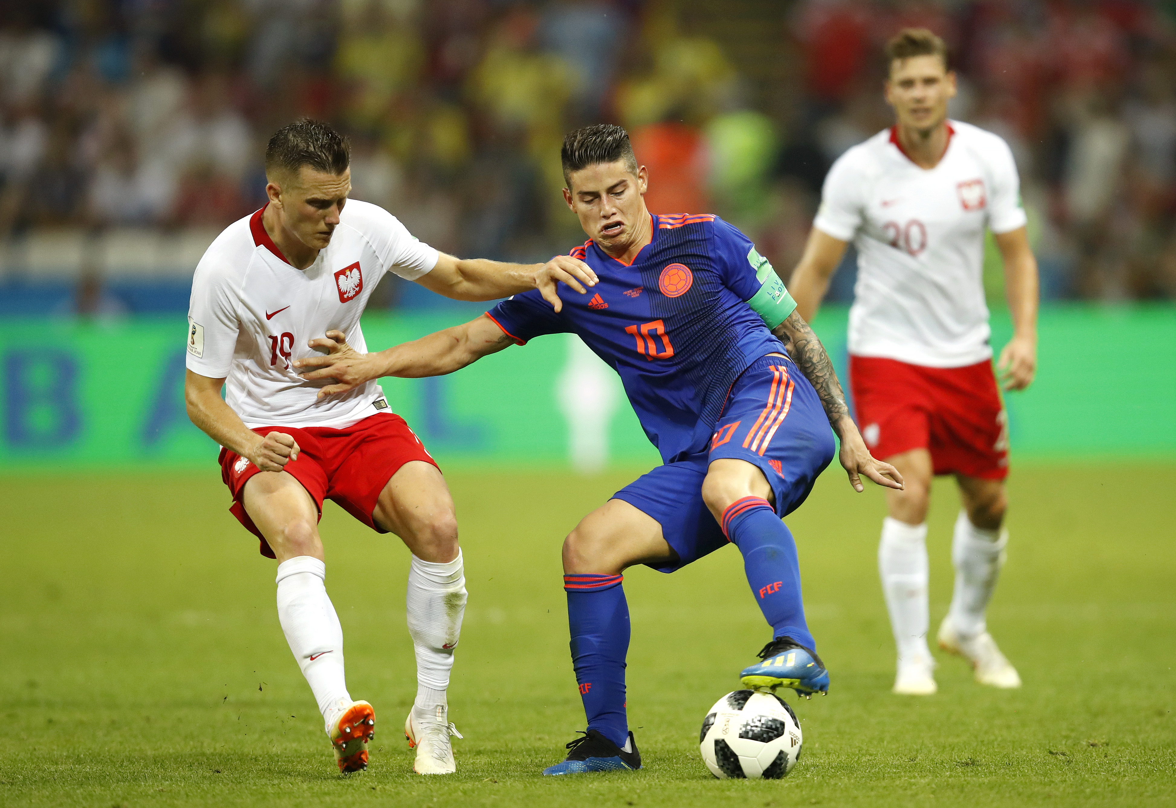 Poland v Colombia: Group H - 2018 FIFA World Cup Russia