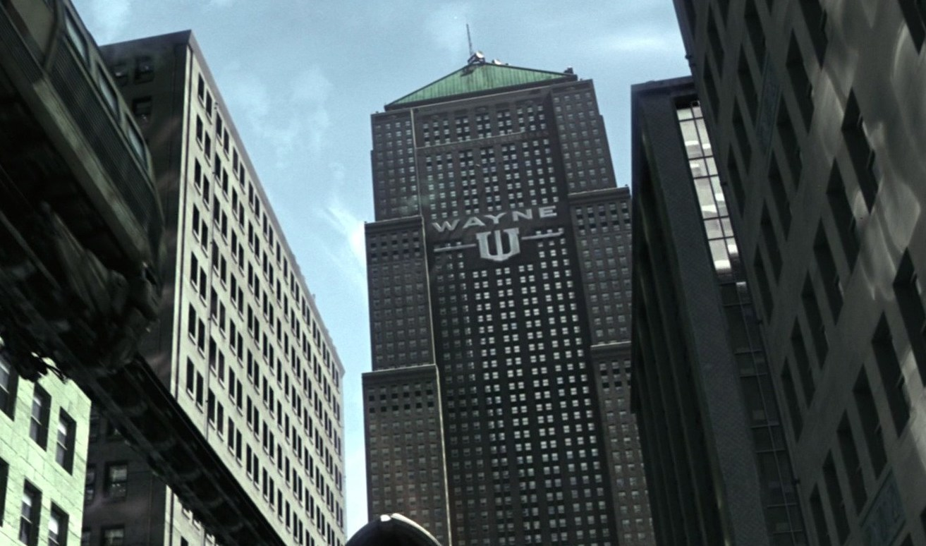 The Dark Knight cleverly built Gotham out of Chicago