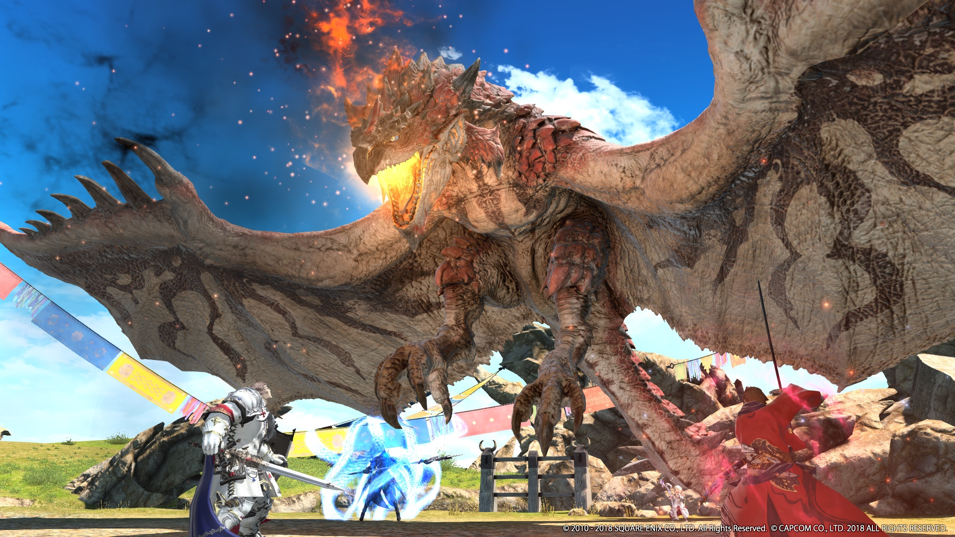Monster Hunter World Comes To Final Fantasy 14 On Aug 7 Polygon