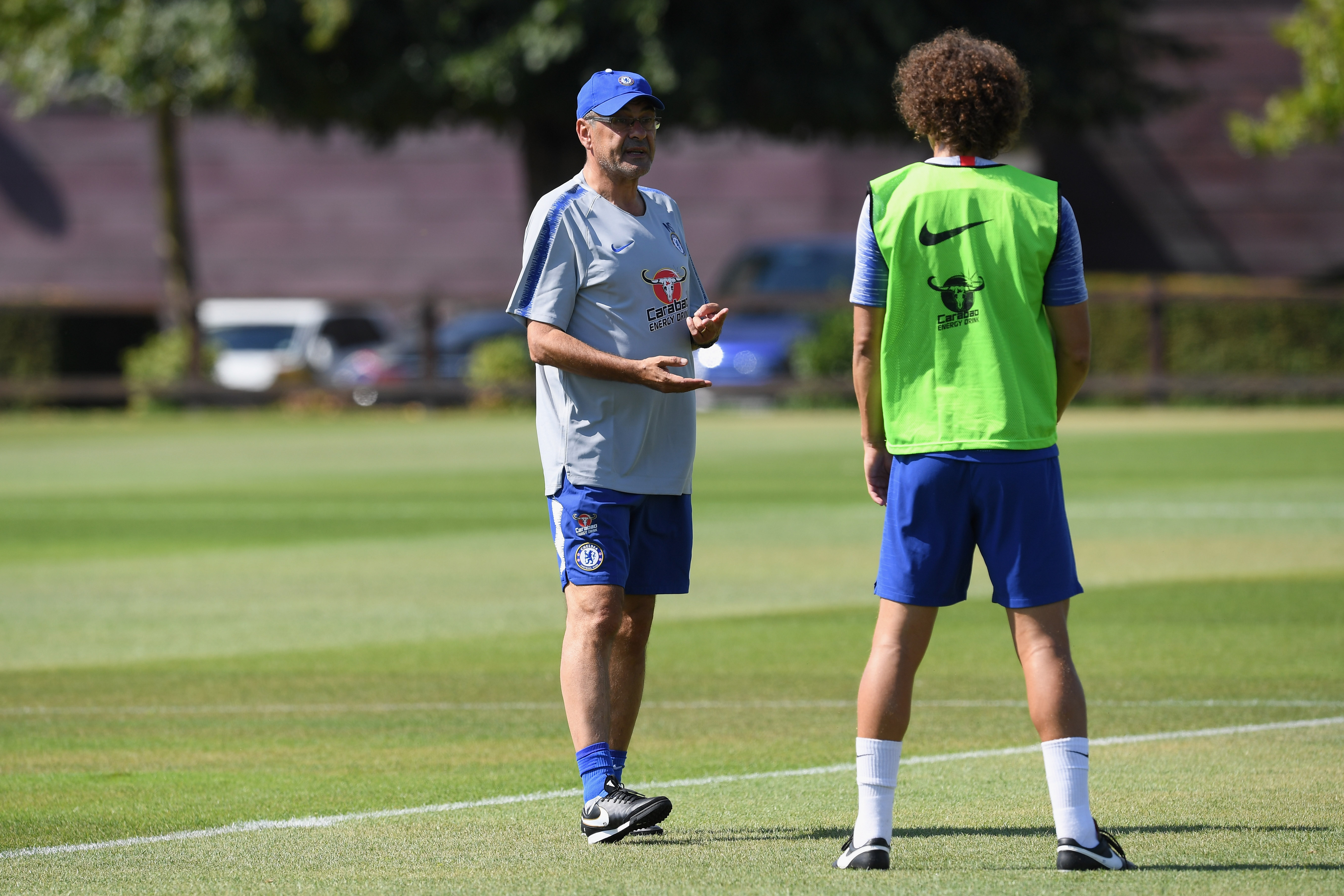PICTURES: Sarri's First Chelsea Training Session