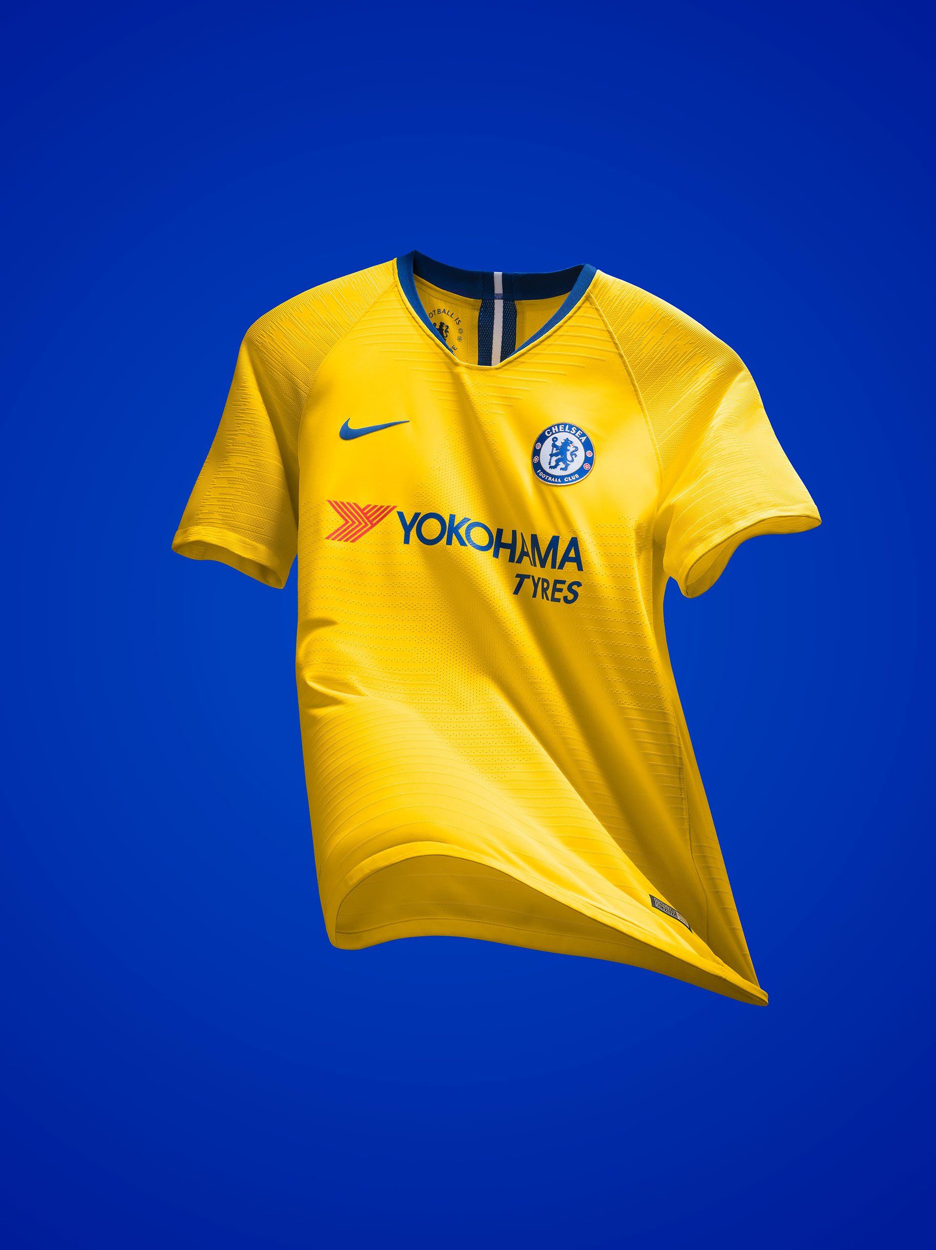96526805c Nike and Chelsea launch gloriously yellow 2018-19 away kit - We Ain ...