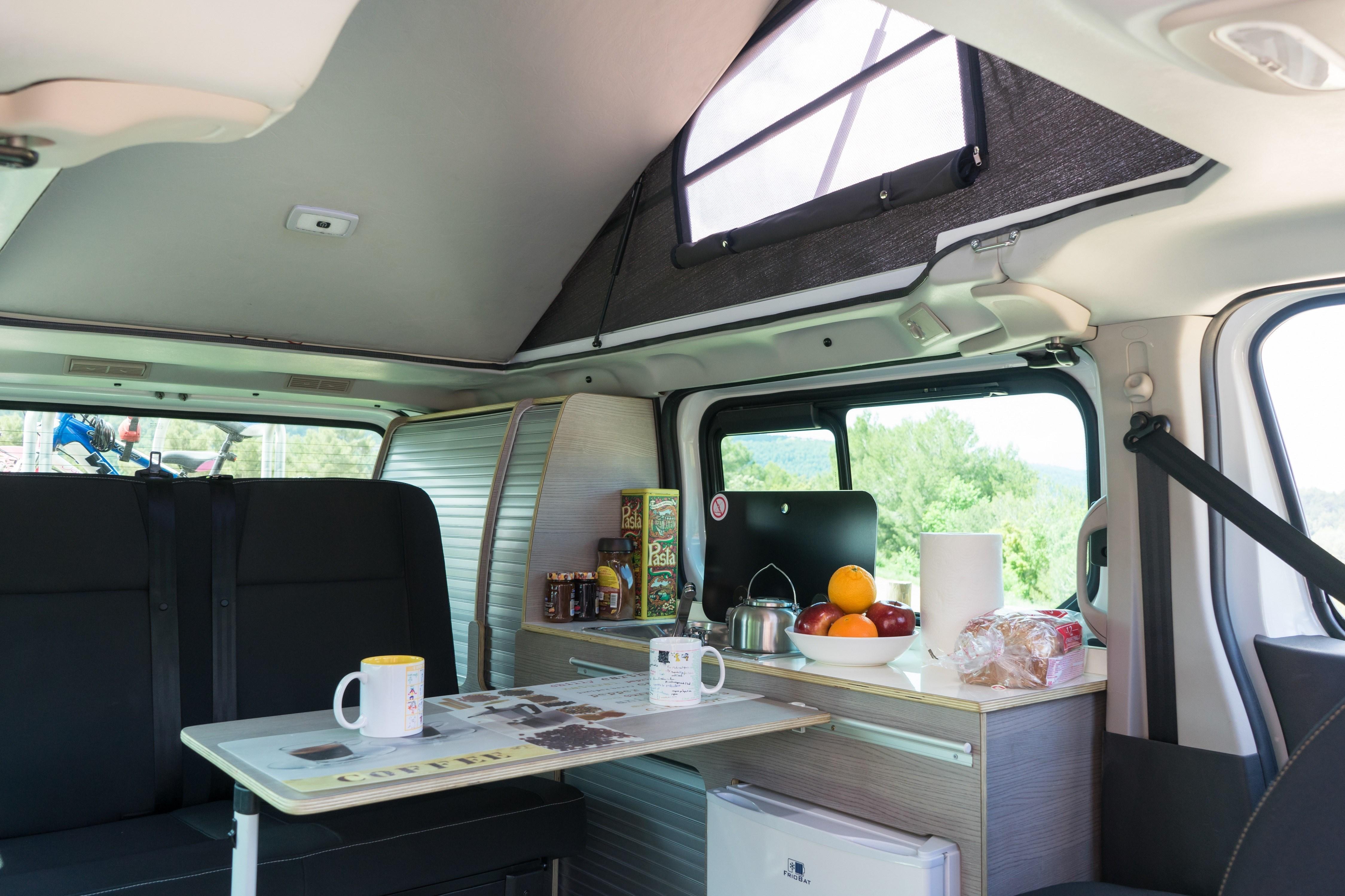New pop-top camper van is fully electric