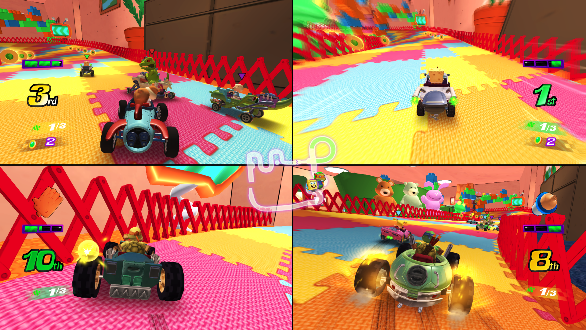 Nickelodeon Kart Racers reunites classic cartoons on