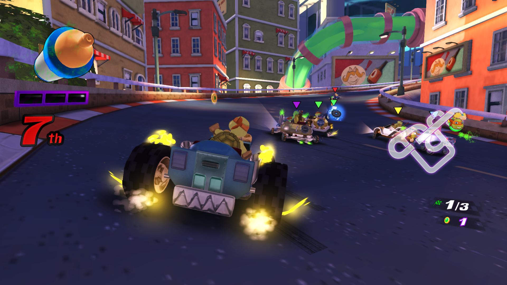Nickelodeon Kart Racers Reunites Classic Cartoons On Consoles This