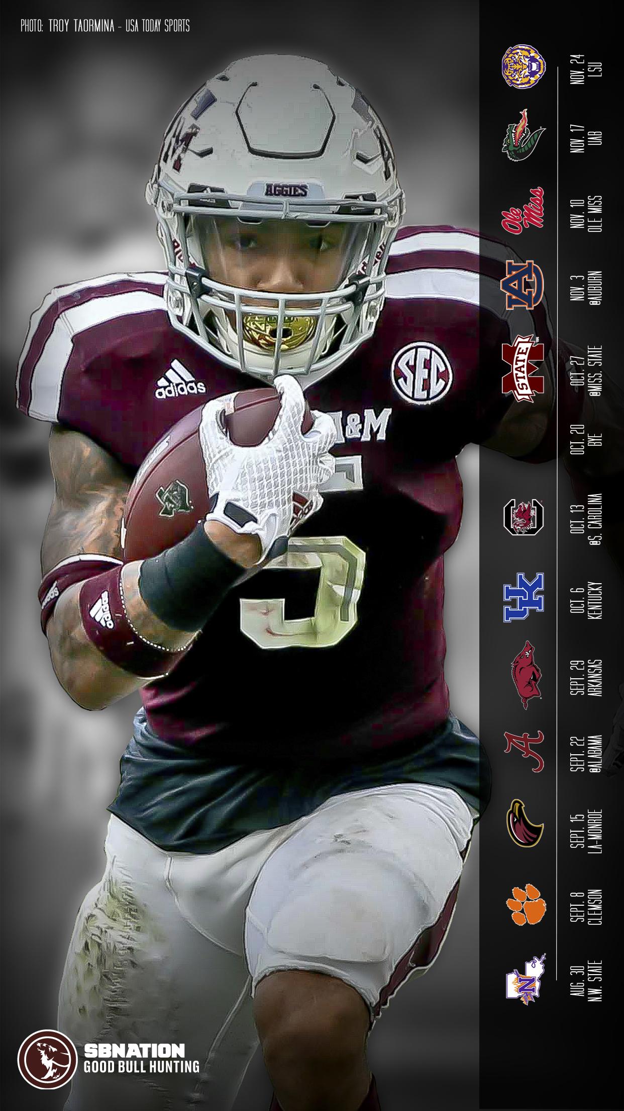 2018 Texas Am Aggie Football Desktop Wallpapers Backgrounds Good