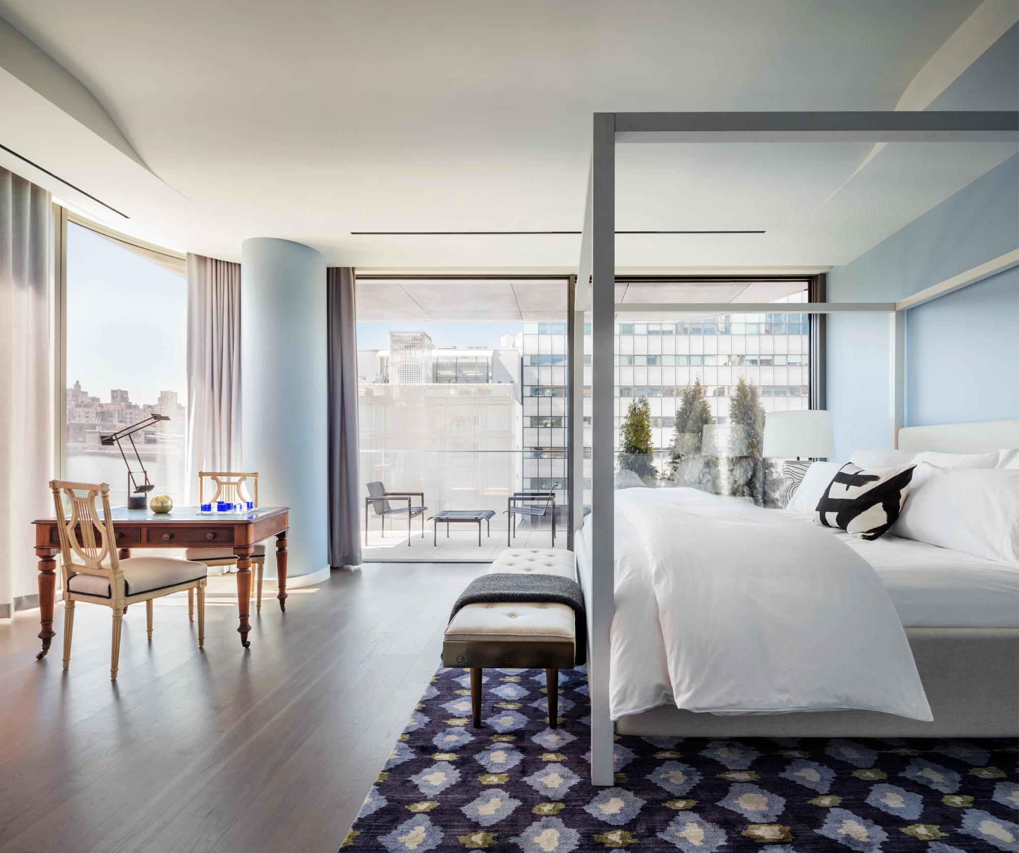 Zaha Hadid's High Line-hugging condo unveils a new model home