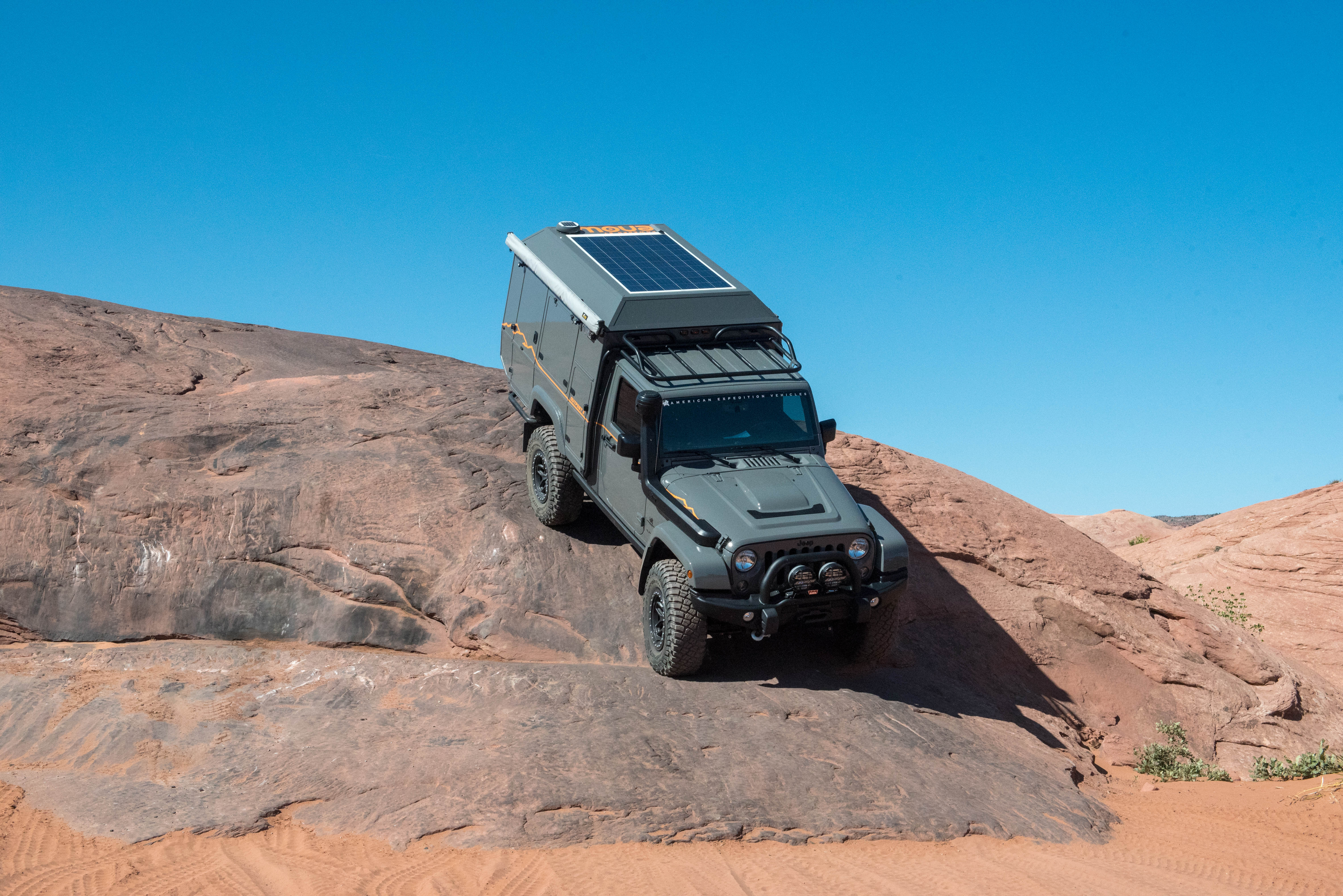 Burly truck camper is expedition ready