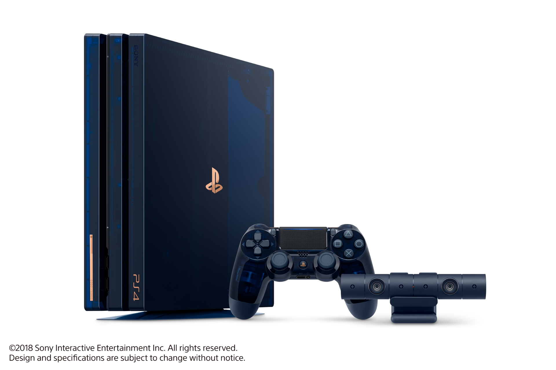 Gorgeous limited edition PS4 Pro marks 500 million PlayStation