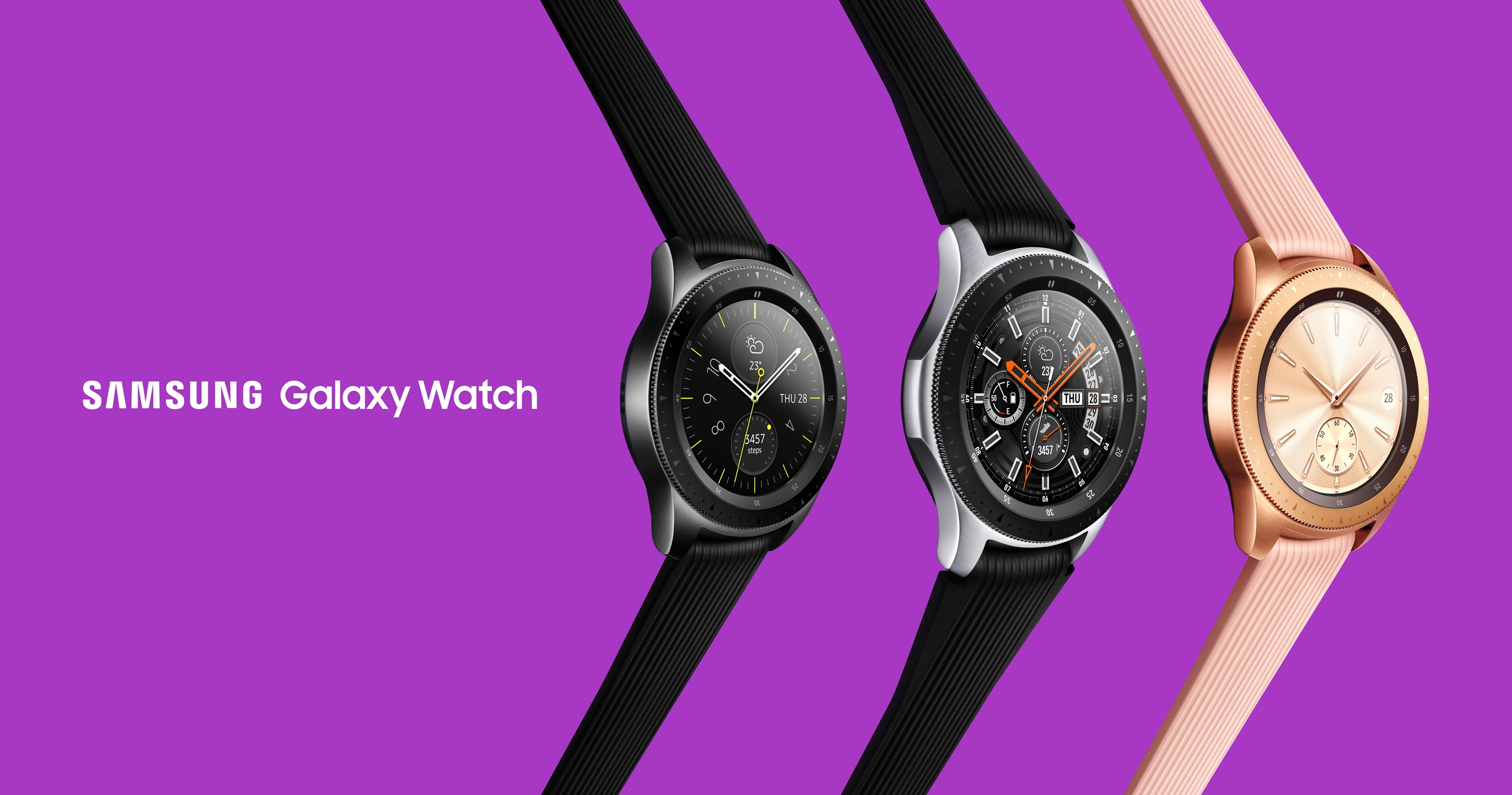 Samsung unveils its latest smartwatch — the Galaxy Watch