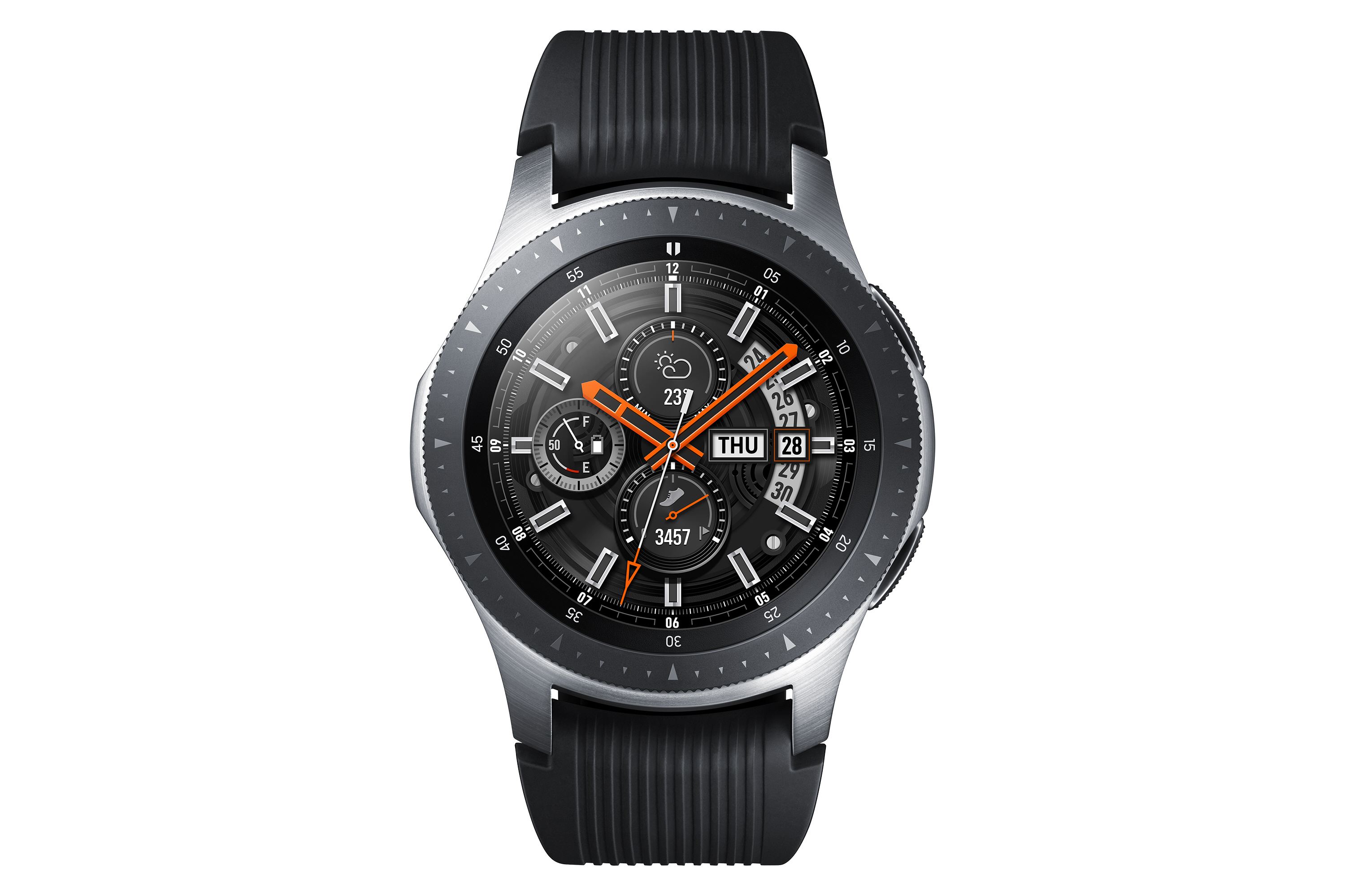 Samsung Unveils Its Latest Smartwatch The Galaxy Watch The Verge