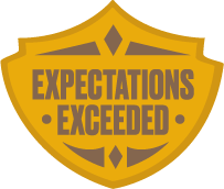 expectations-badge
