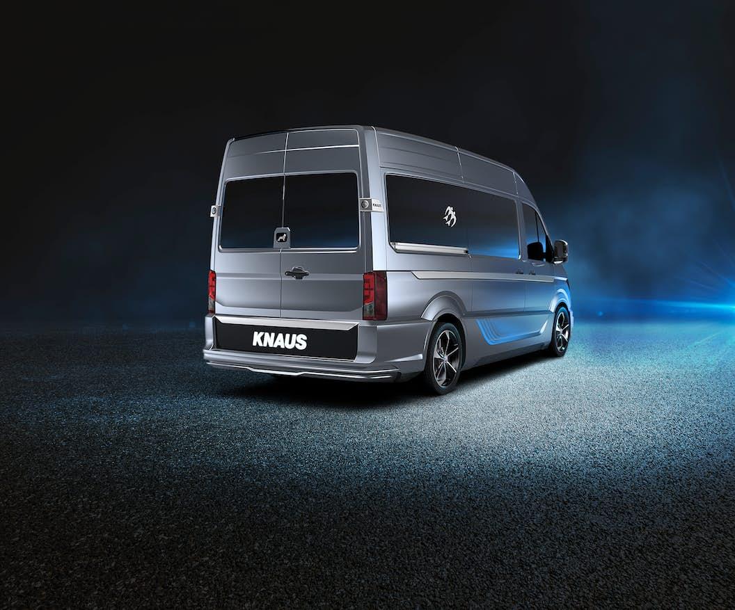 Camper vans get a race car makeover