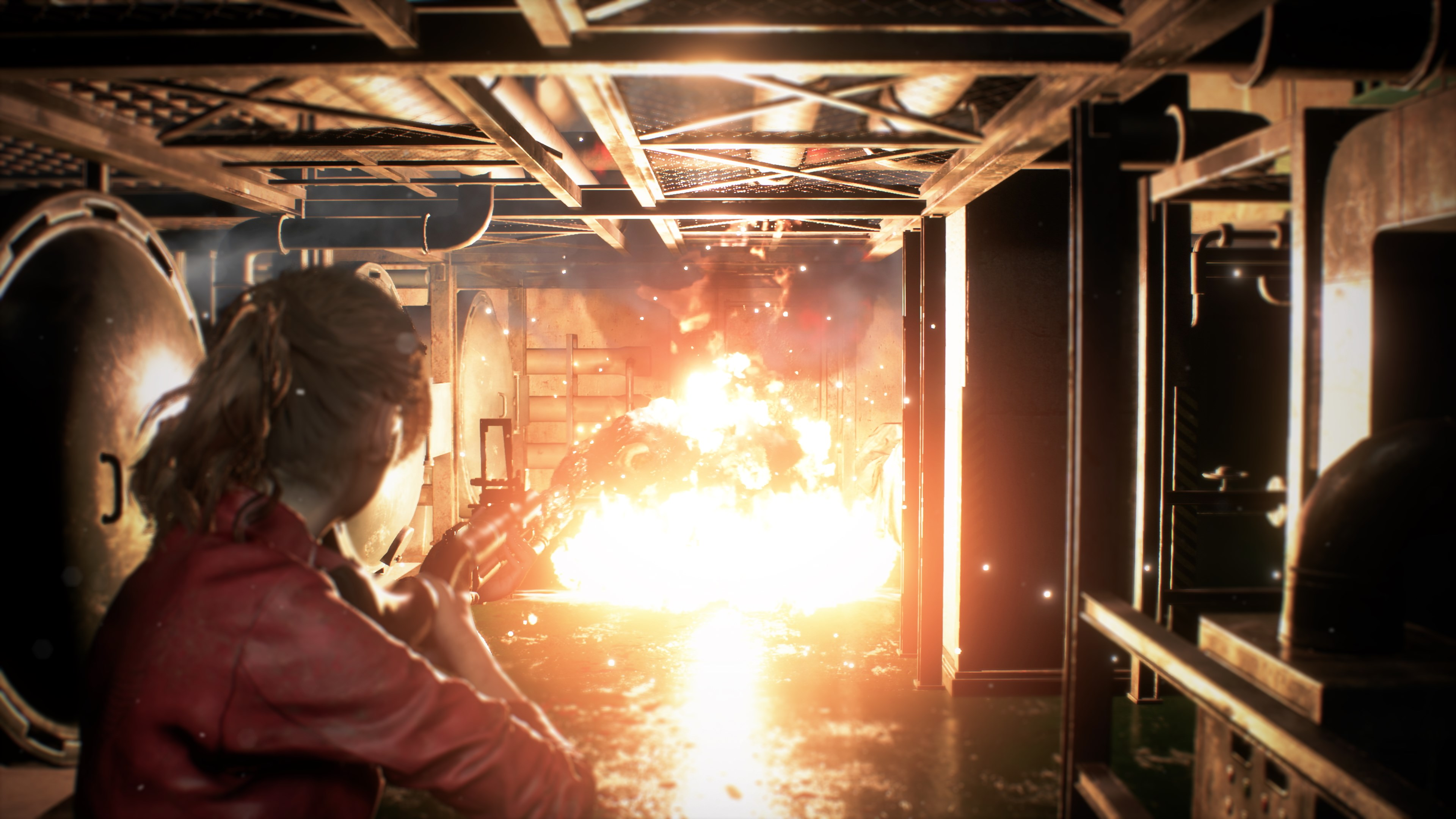 watch an extended gameplay clip of resident evil 2
