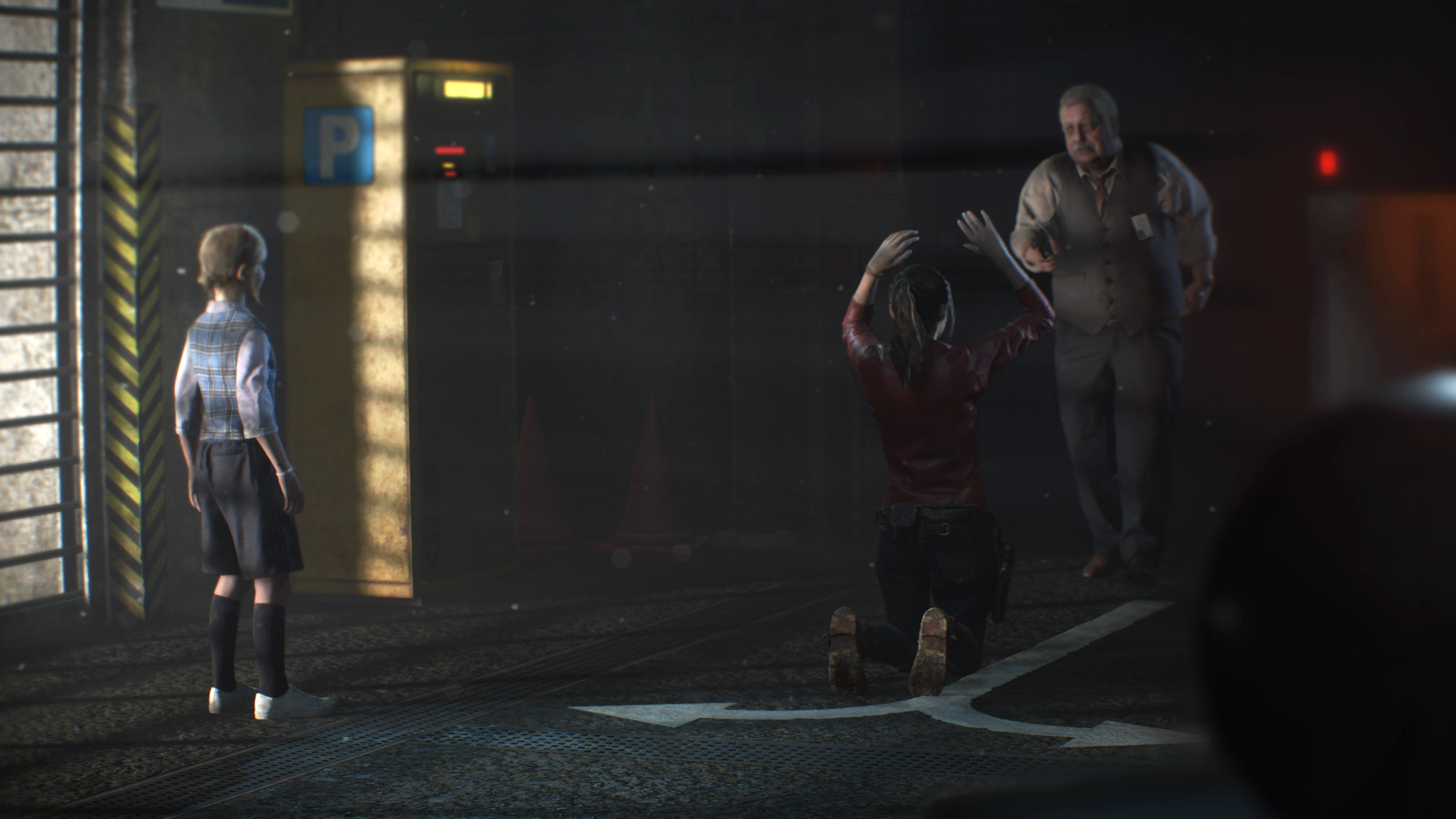 Watch an extended gameplay clip of Resident Evil 2 featuring Claire