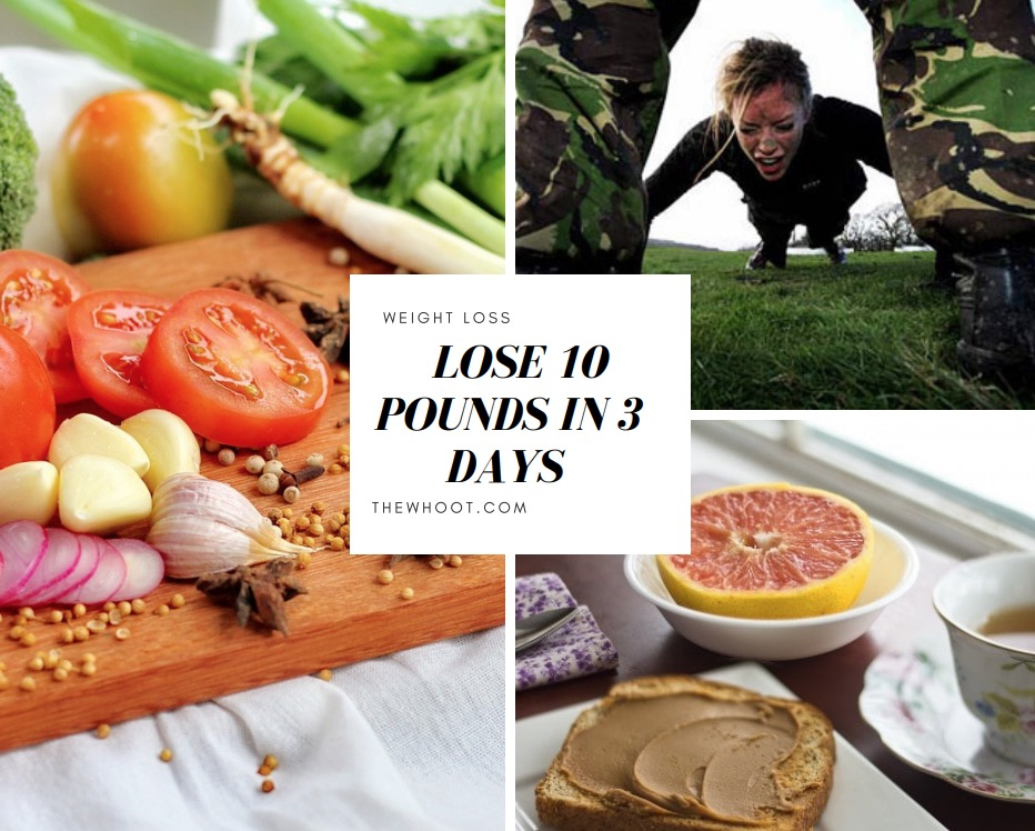 This Weight Loss Military Diet Plan Helps To Lose 10 Pounds in Three Days