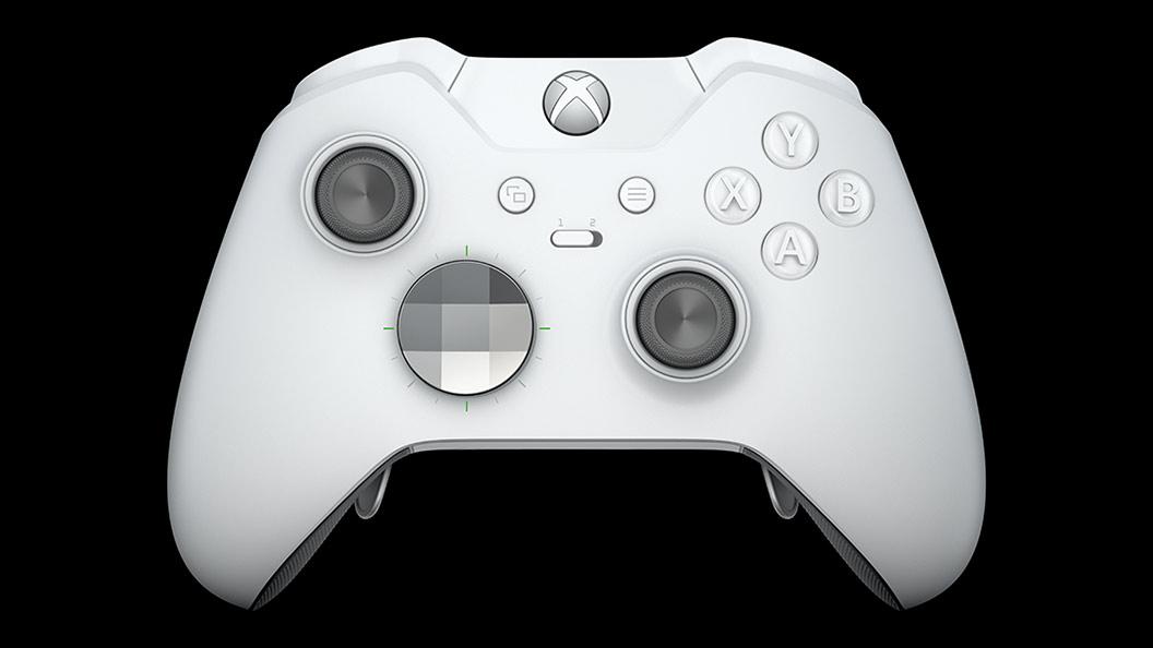 Microsoft unveils new Xbox Elite controller in robot white - The Verge