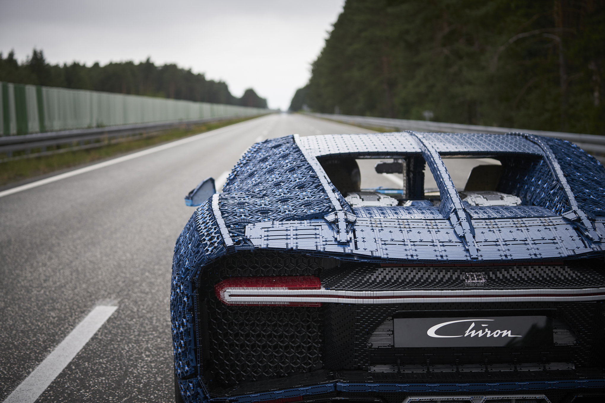 Lego Built A Drivable Bugatti Chiron With Over 1 Million Pieces