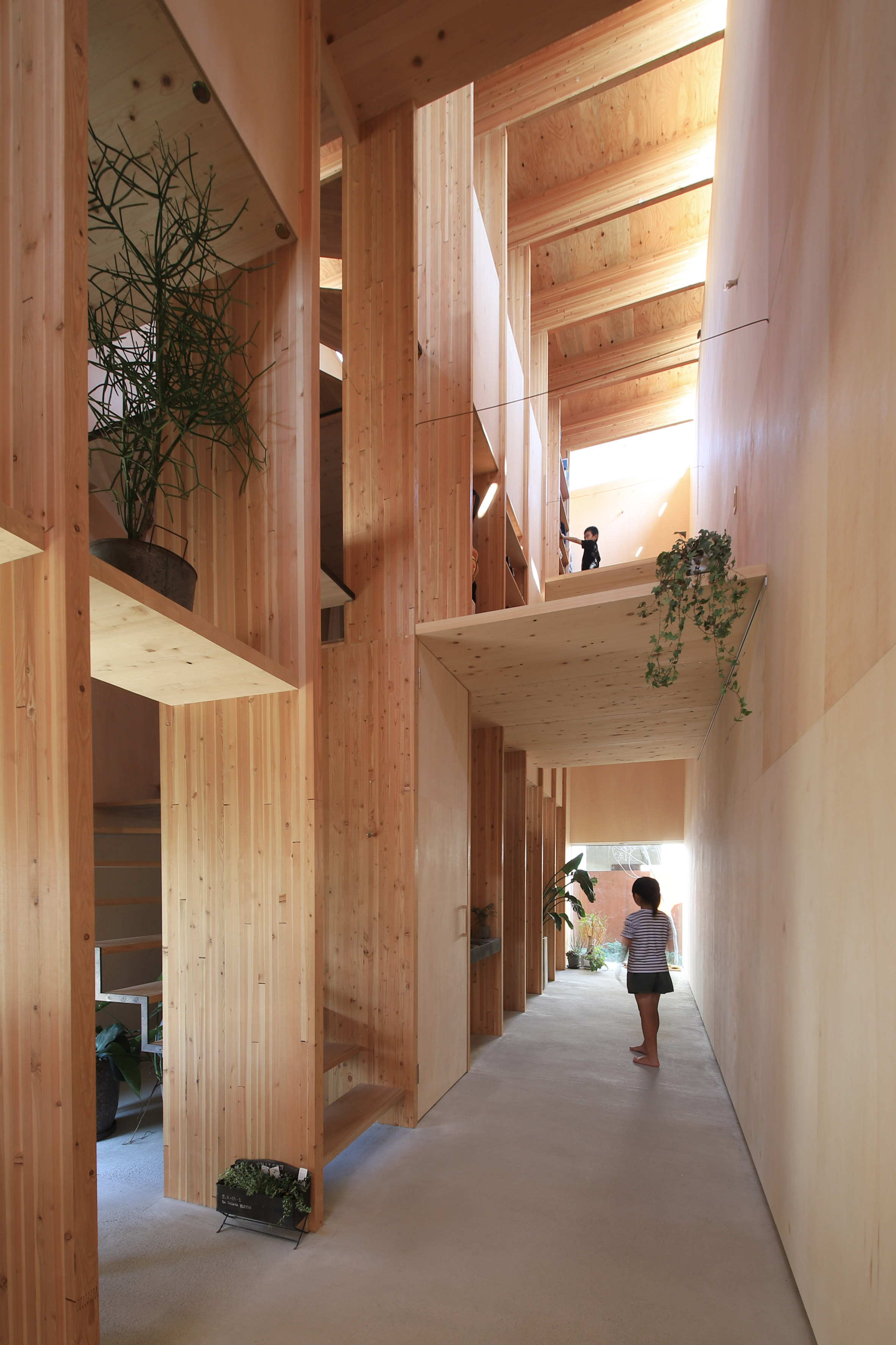 Japanese architect redefines 'open plan' with daring narrow house