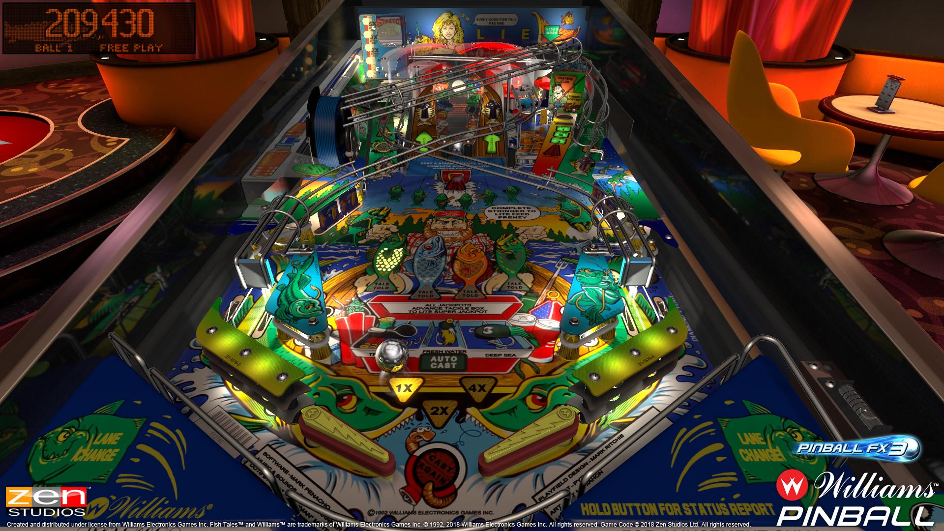 Bally/Williams pinball tables coming to Zen Studios' Pinball FX3